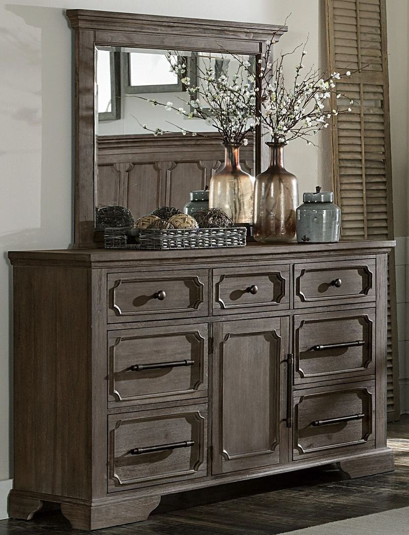 Toulon Unique Rustic Storage Bedroom Set From Homelegance