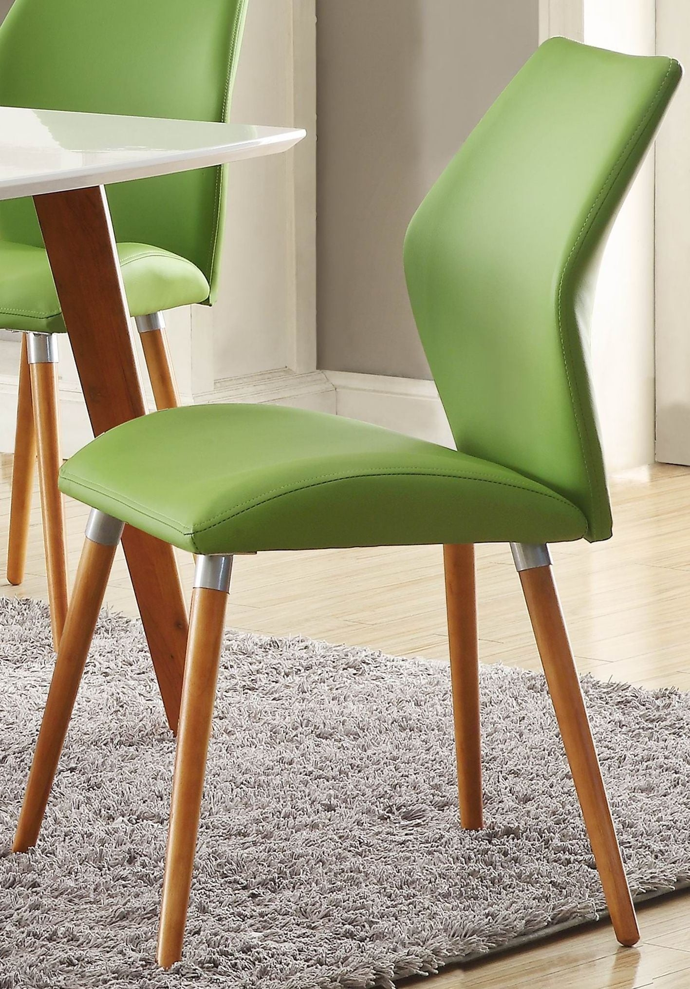 Green Side Chair Set Of 2