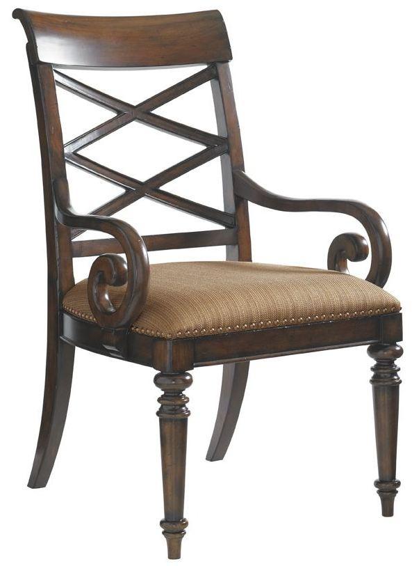 Landara Cedar Point Arm Chair From Tommy Bahama Coleman