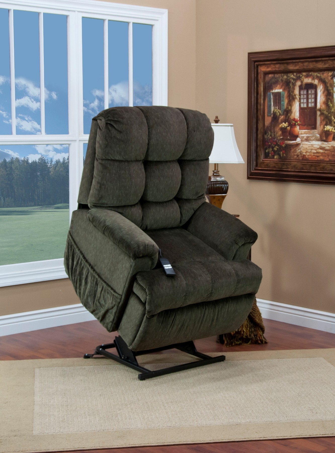 5555 Series Petite Sleeper Reclining Cabo Lift Chair From