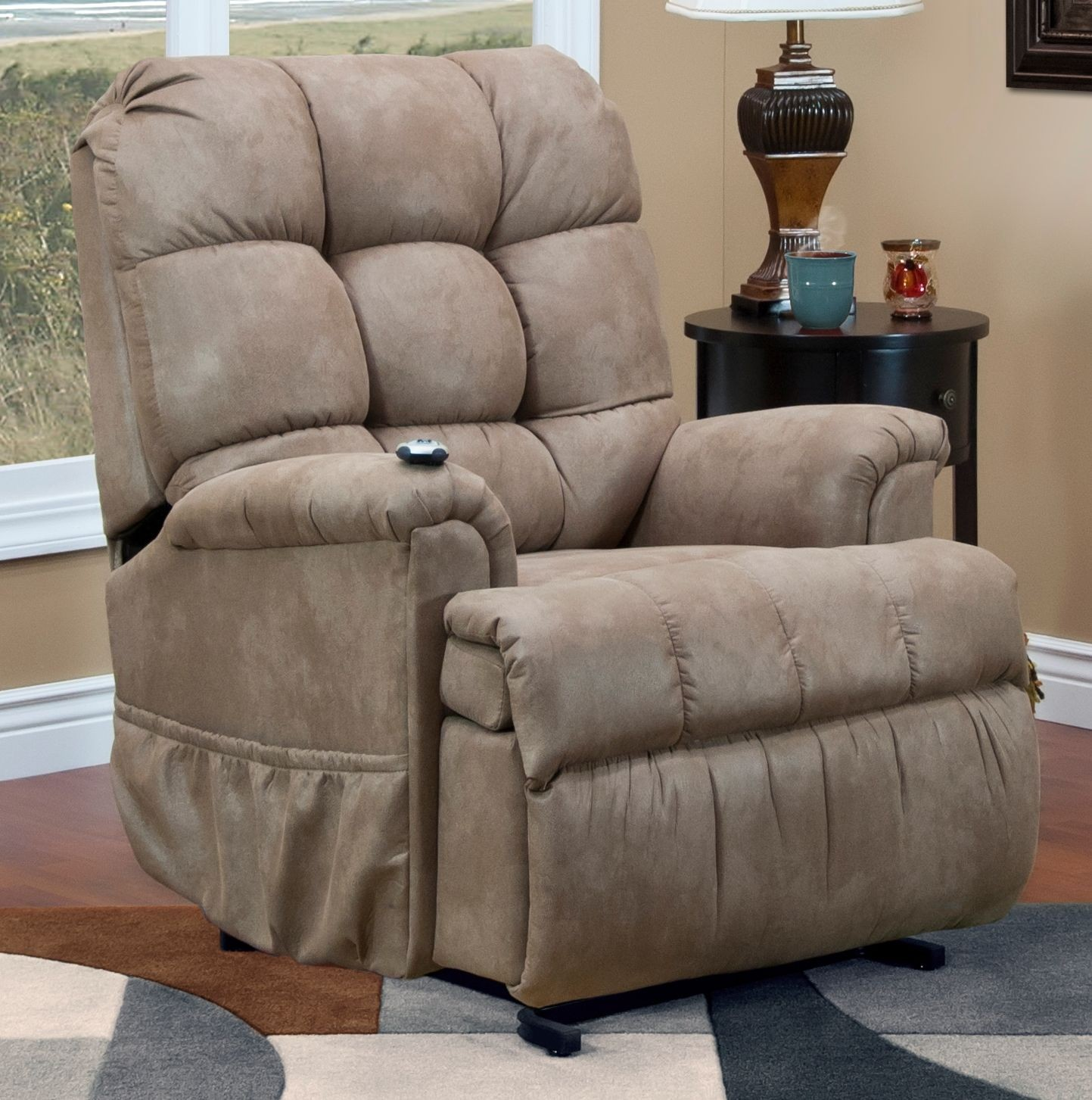 Stampede Mocha Sleeper Reclining Lift Chair From Med Lift