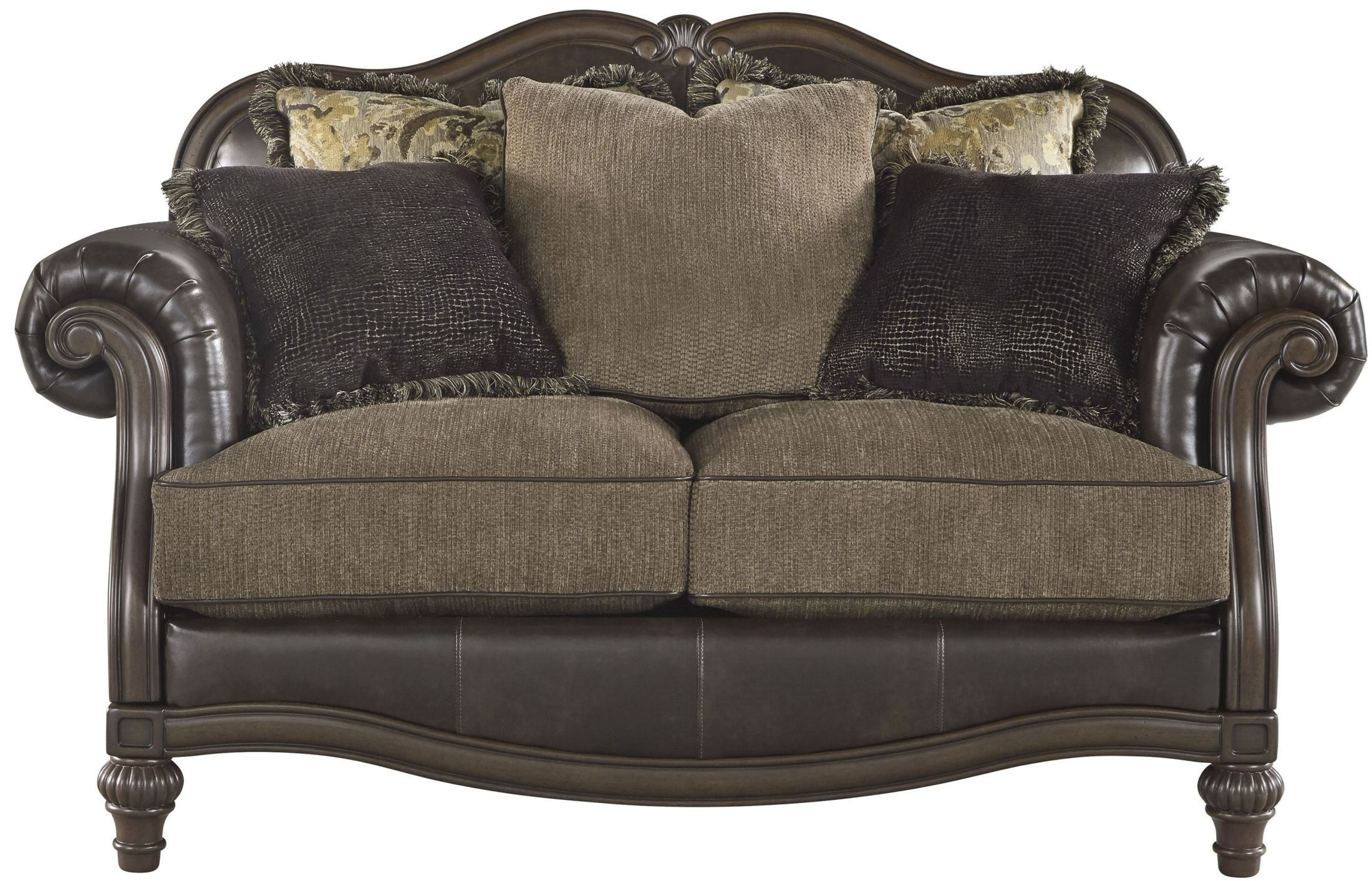 Winnsboro durablend vintage living room set from ashley coleman furniture - Vintage furniture living ...