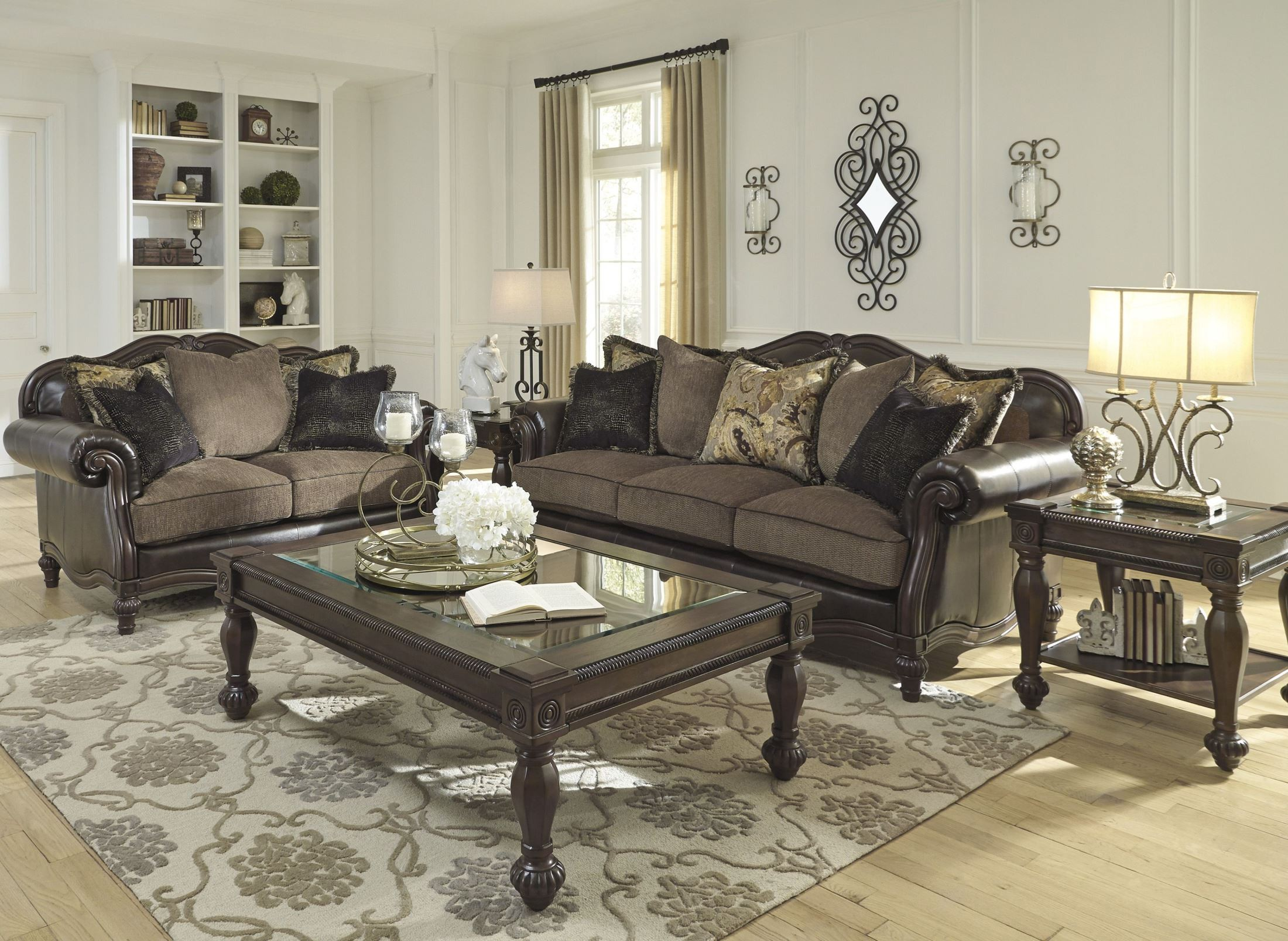Winnsboro DuraBlend Vintage Living Room Set from Ashley Coleman
