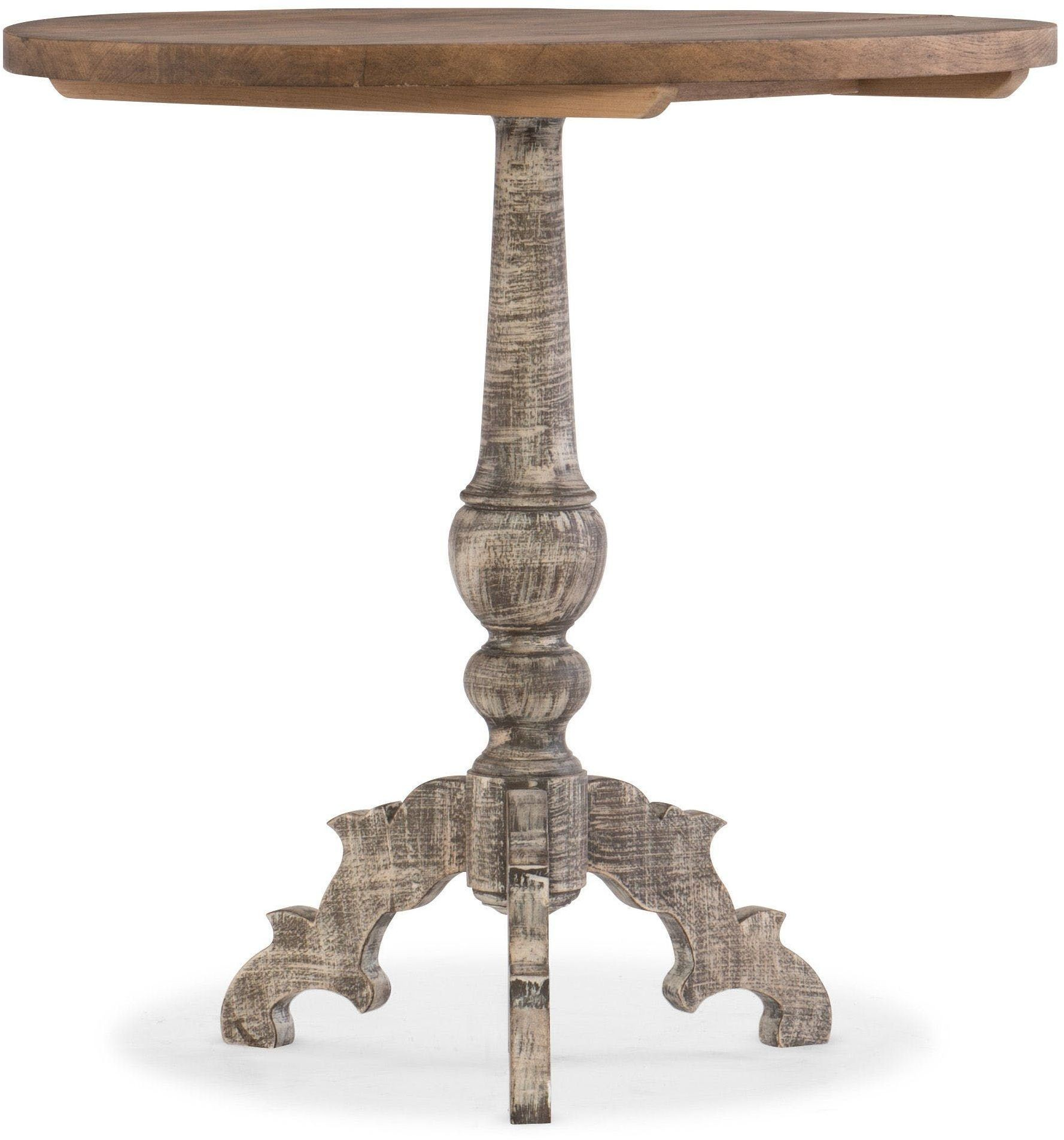 Light wood accent table from hooker coleman furniture for Light wood side table