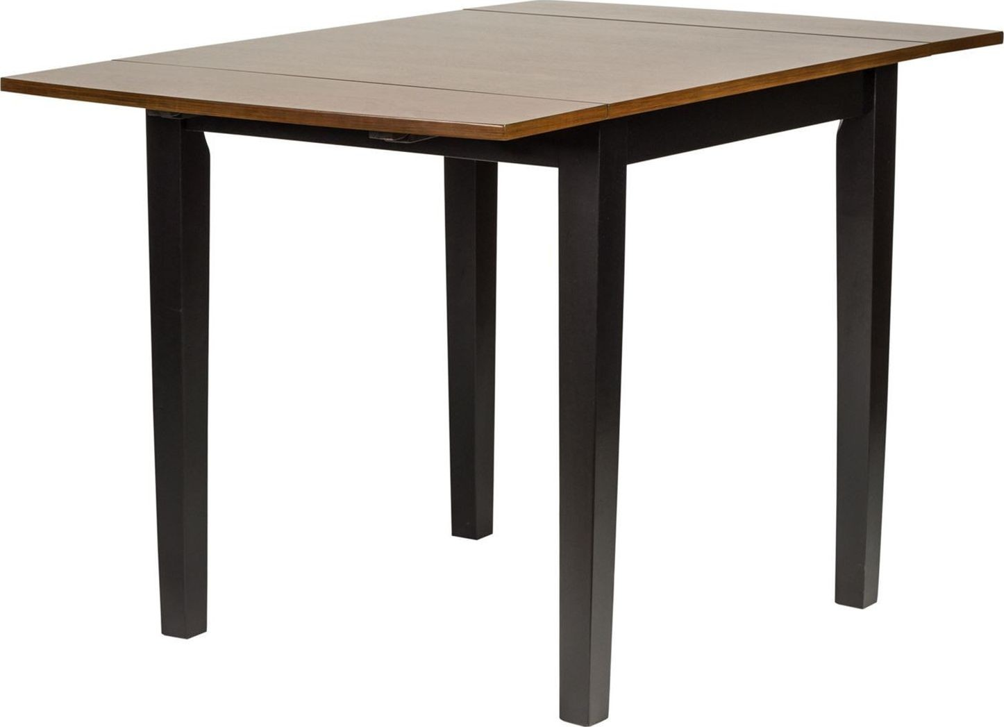 cafe black and cherry drop leaf table from liberty coleman furniture. Black Bedroom Furniture Sets. Home Design Ideas