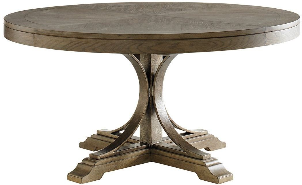 Cypress Point Atwell Extendable Round Dining Table From