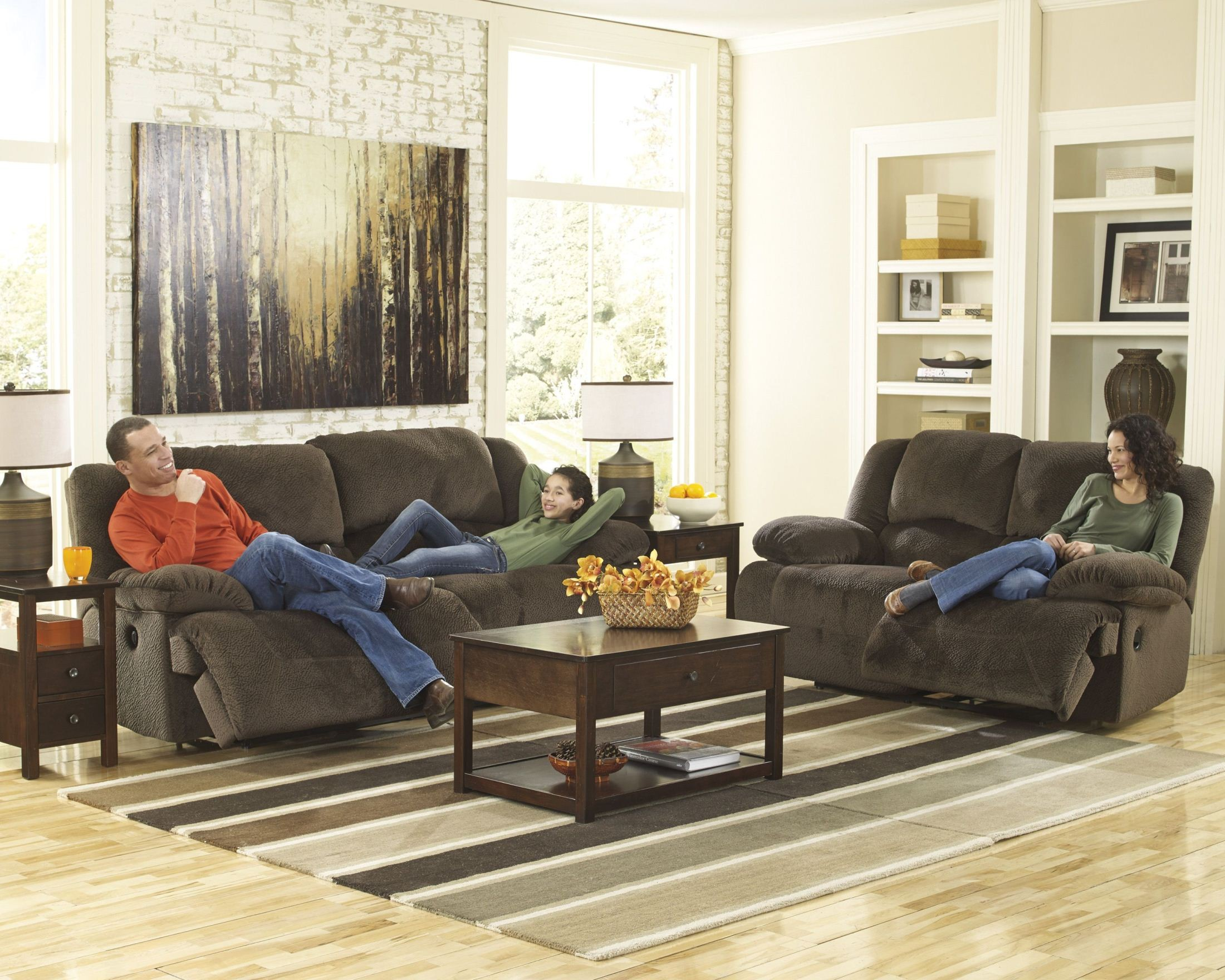 chocolate living room. 818528 Toletta Chocolate Living Room Set from Ashley  5670181 86 Coleman
