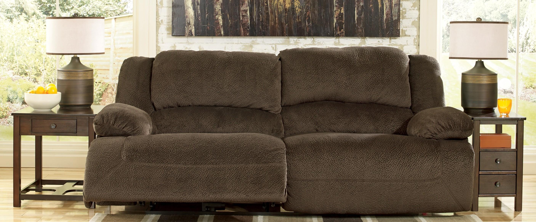 Toletta Chocolate 2 Seat Reclining Sofa From Ashley