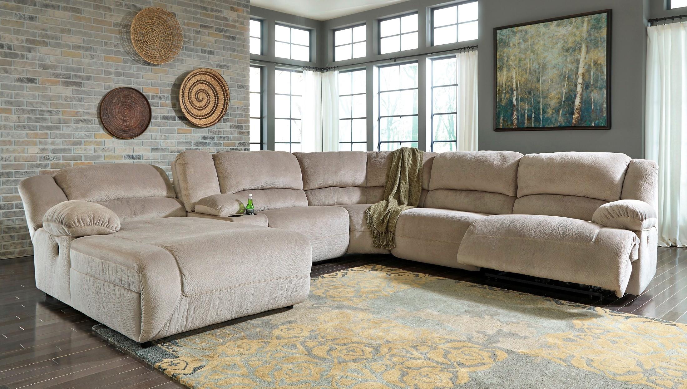 Toletta Granite Raf Sectional From Ashley 5670341