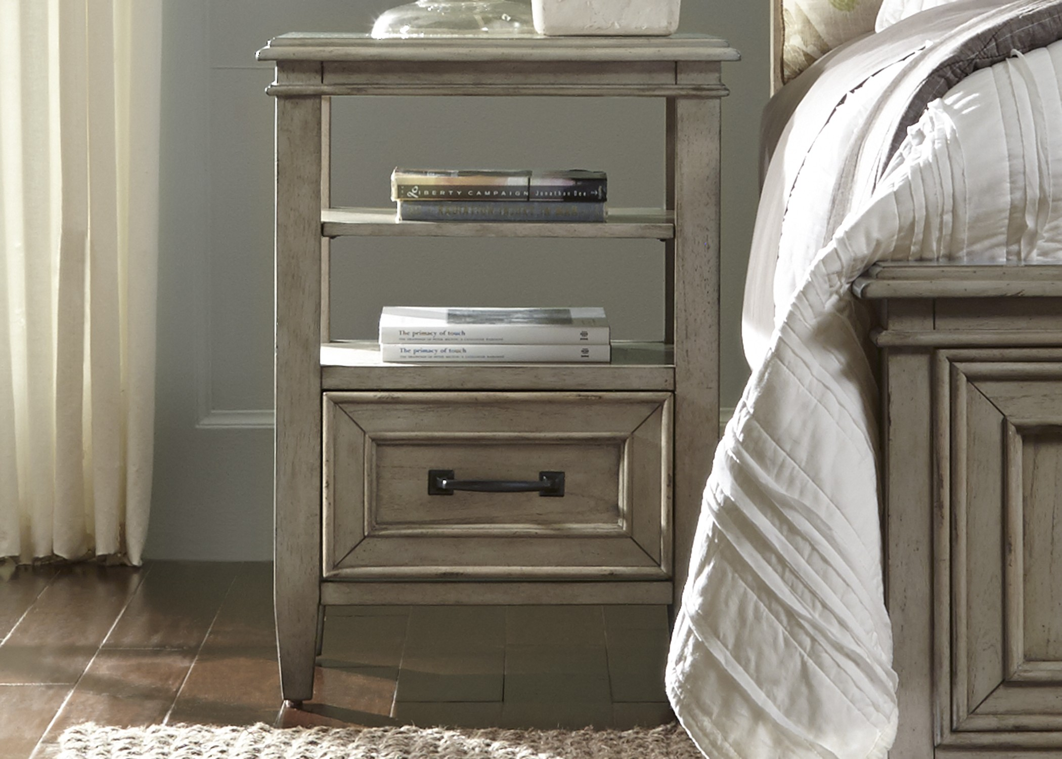 Grayton Grove Driftwood Panel Bedroom Set from Liberty | Coleman ...