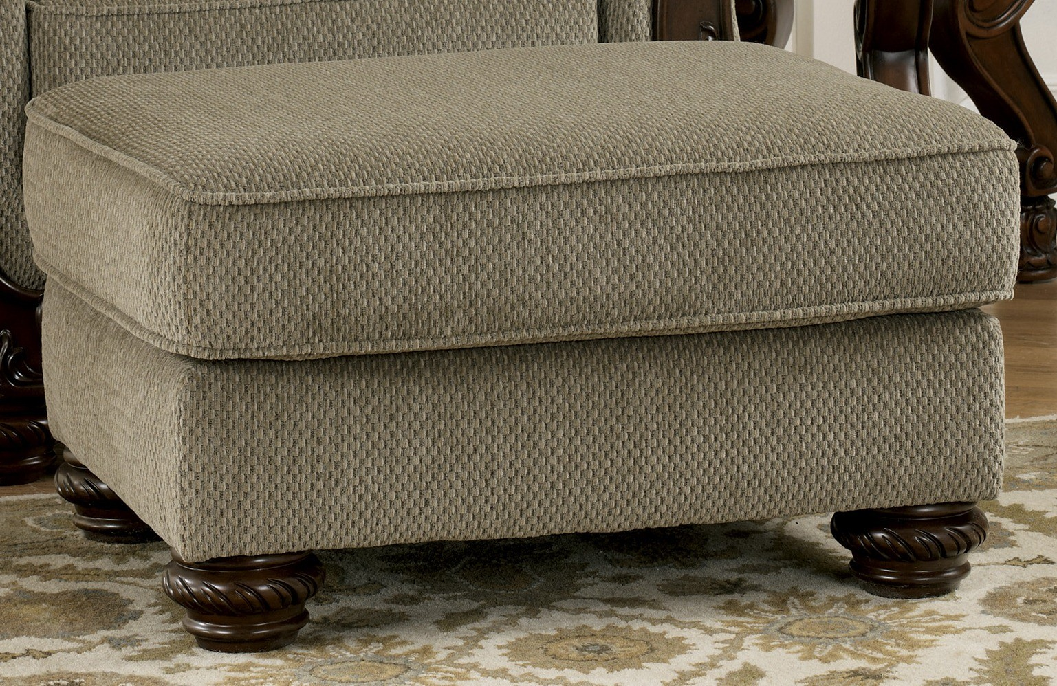 Martinsburg Meadow Ottoman From Ashley 5730014 Coleman