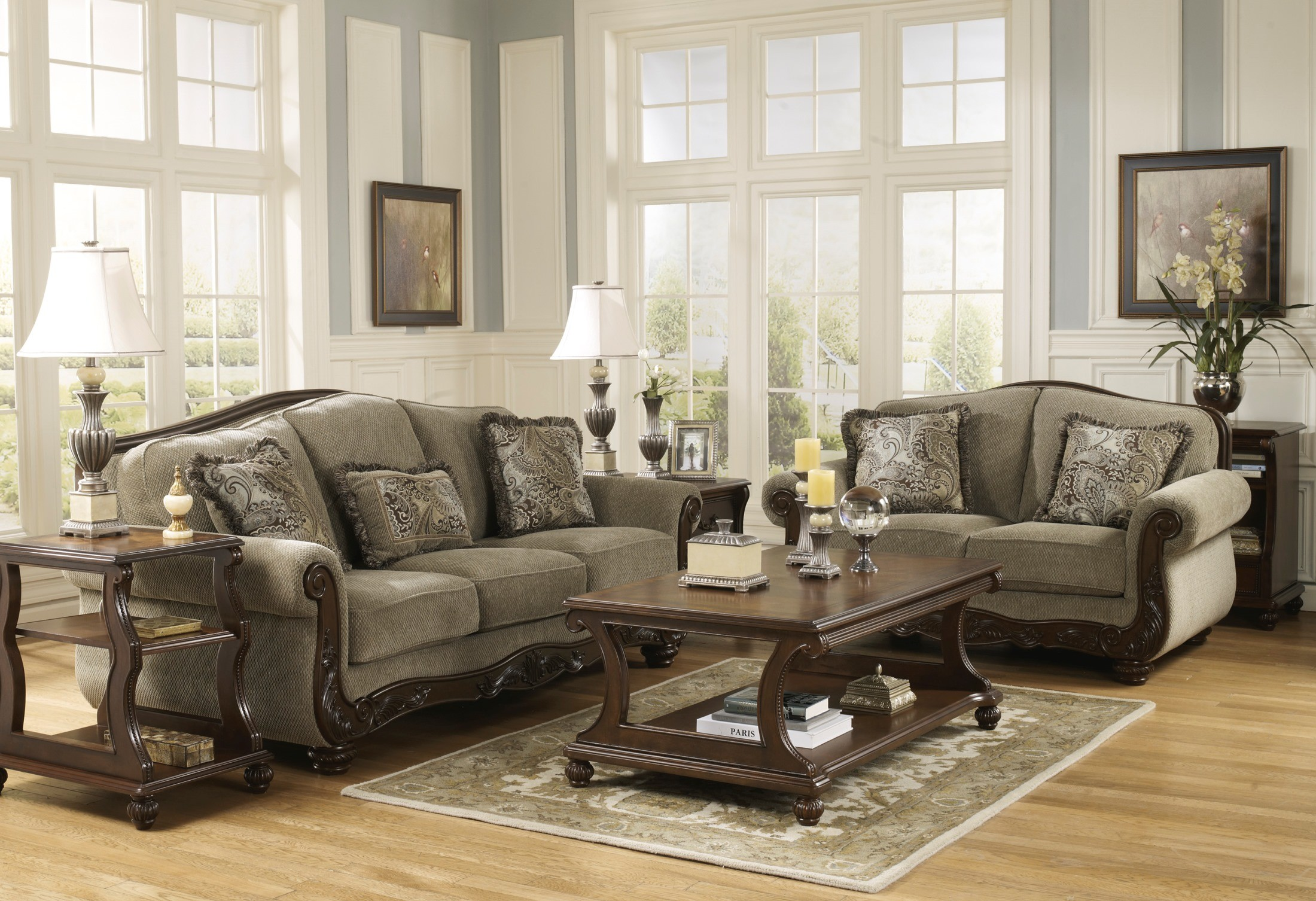 Martinsburg Meadow Living Room Set From Ashley (57300