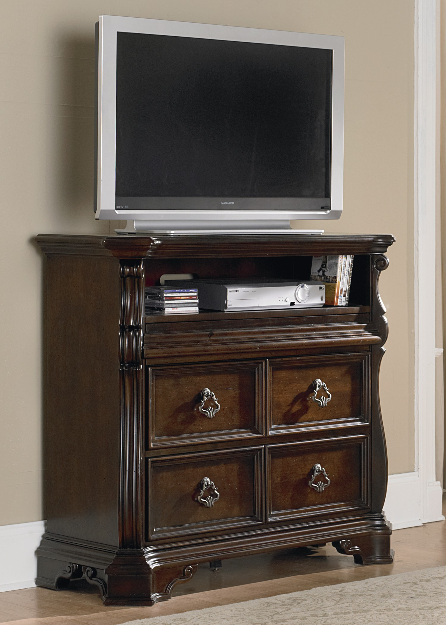 bedroom media chest. 379846 Arbor Place Sleigh Bedroom Set from Liberty  575 BR QSL Coleman