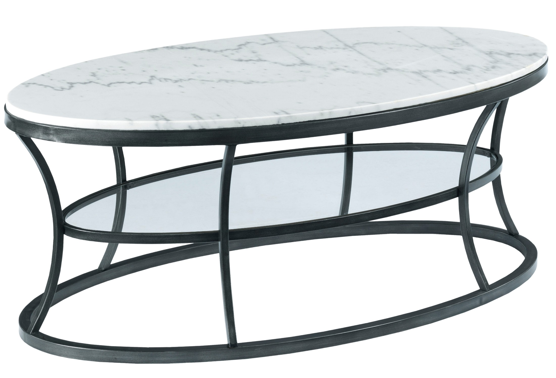 Impact Gray And Cream Oval Occasional Table Set From
