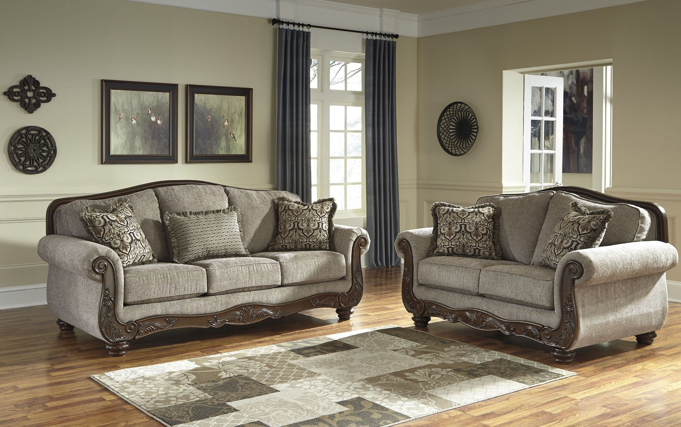 Cecilyn Cocoa Living Room Set from Ashley (5760338 ...
