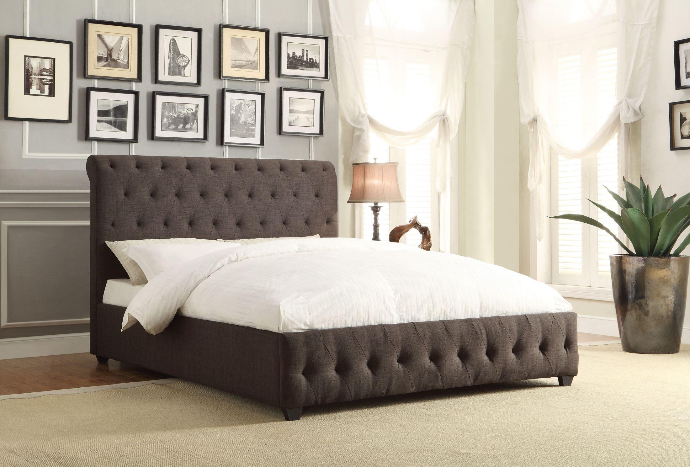 Baldwyn Fabric Full Platform Bed From Homelegance 5789fn 1 Coleman Furniture