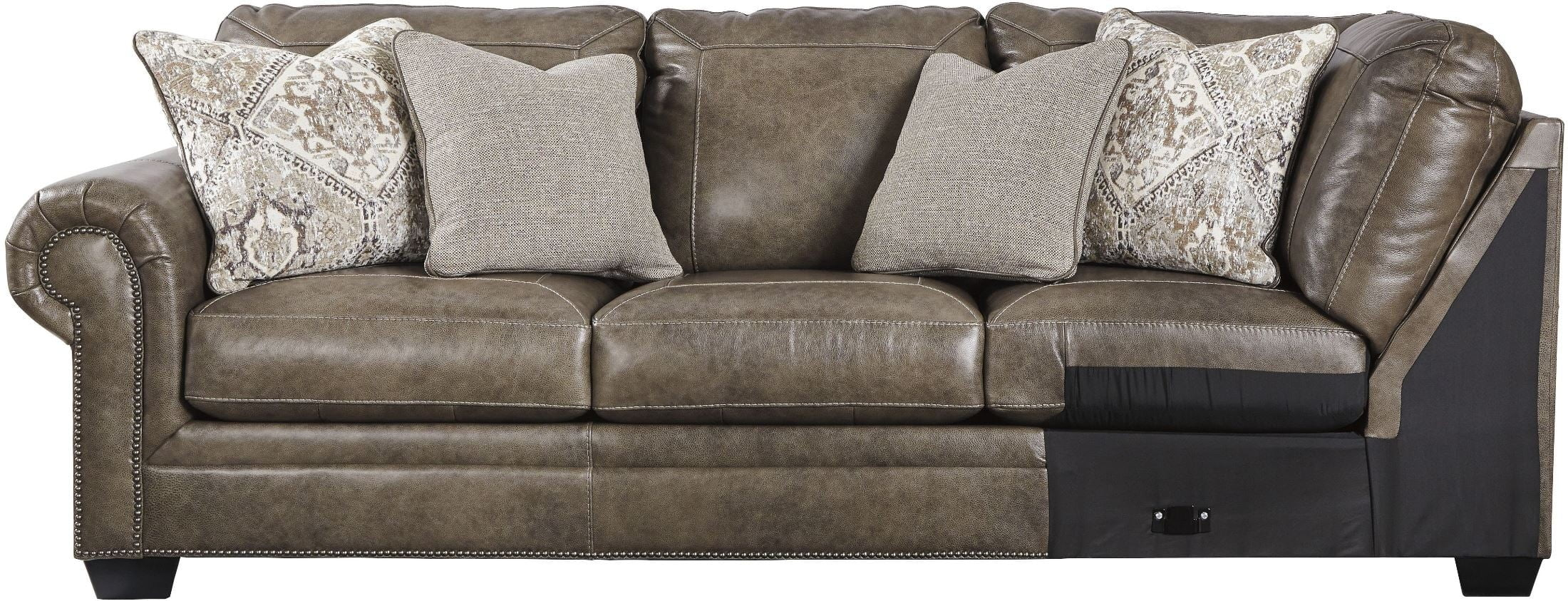 Pleasing Roleson Quarry Raf Sectional From Ashley Coleman Furniture Pdpeps Interior Chair Design Pdpepsorg