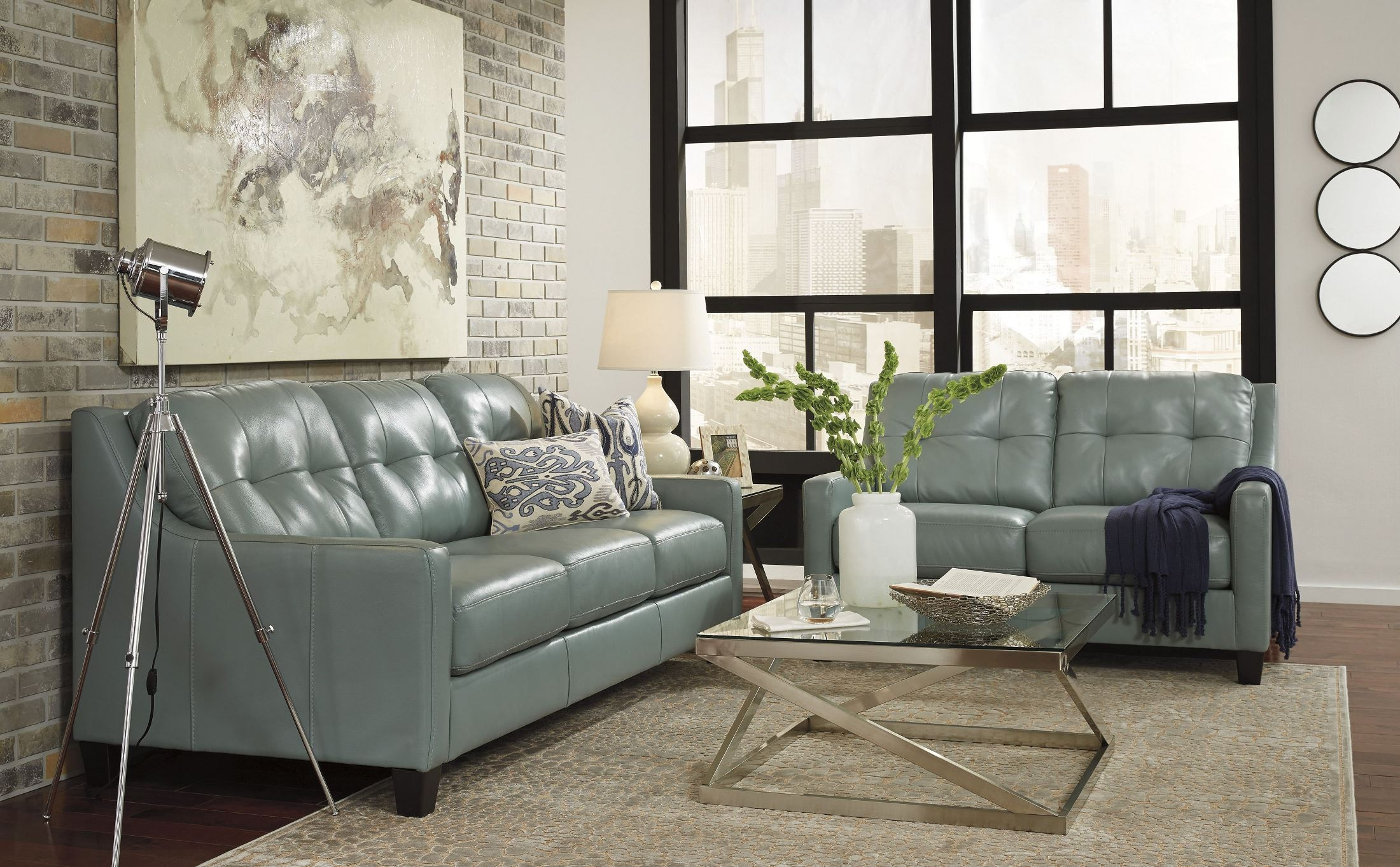 O Kean Sky Queen Sofa Sleeper From Ashley Coleman Furniture