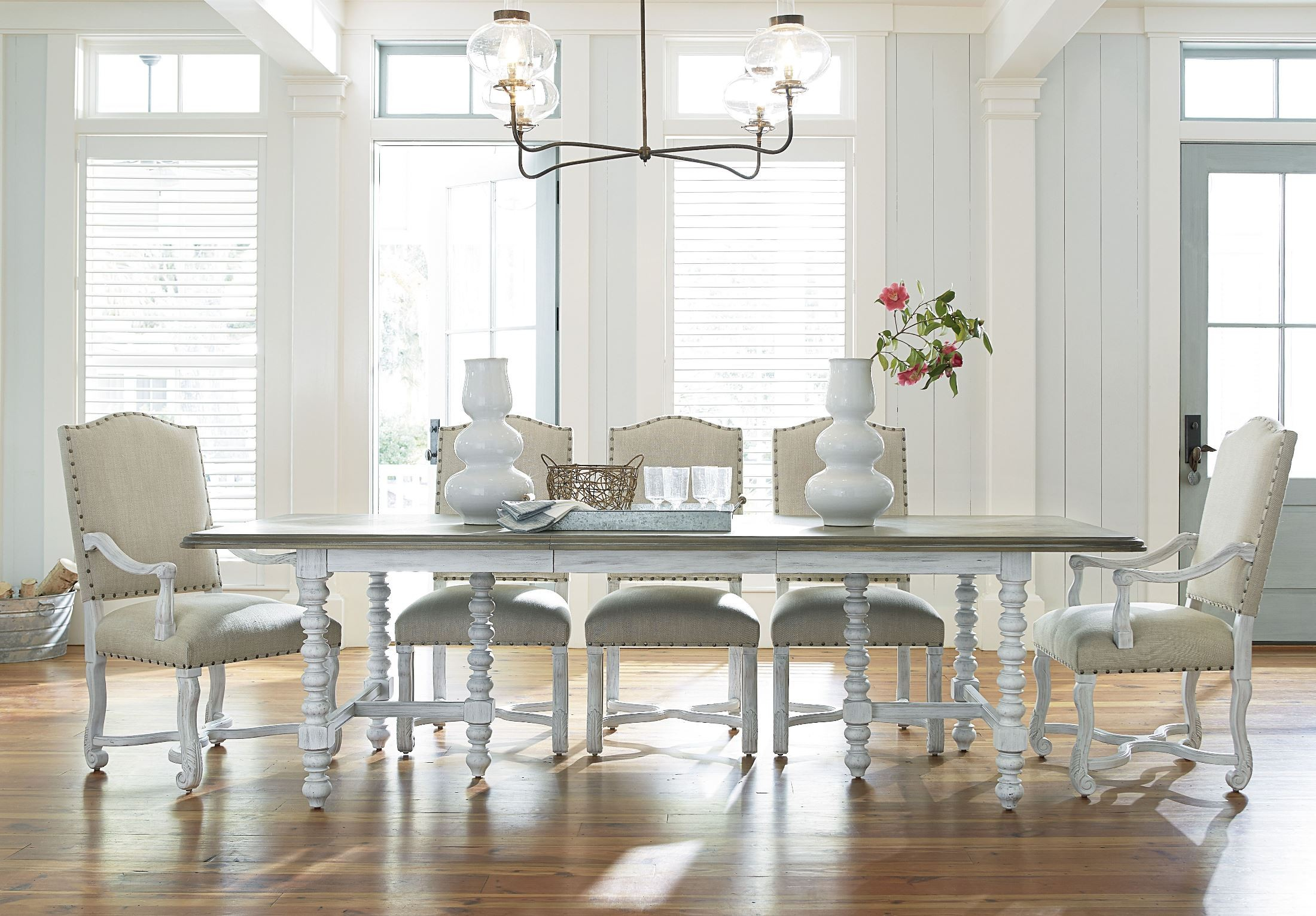 Dogwood Blossom Dining Room Set from Paula Deen (597A655)   Coleman ...