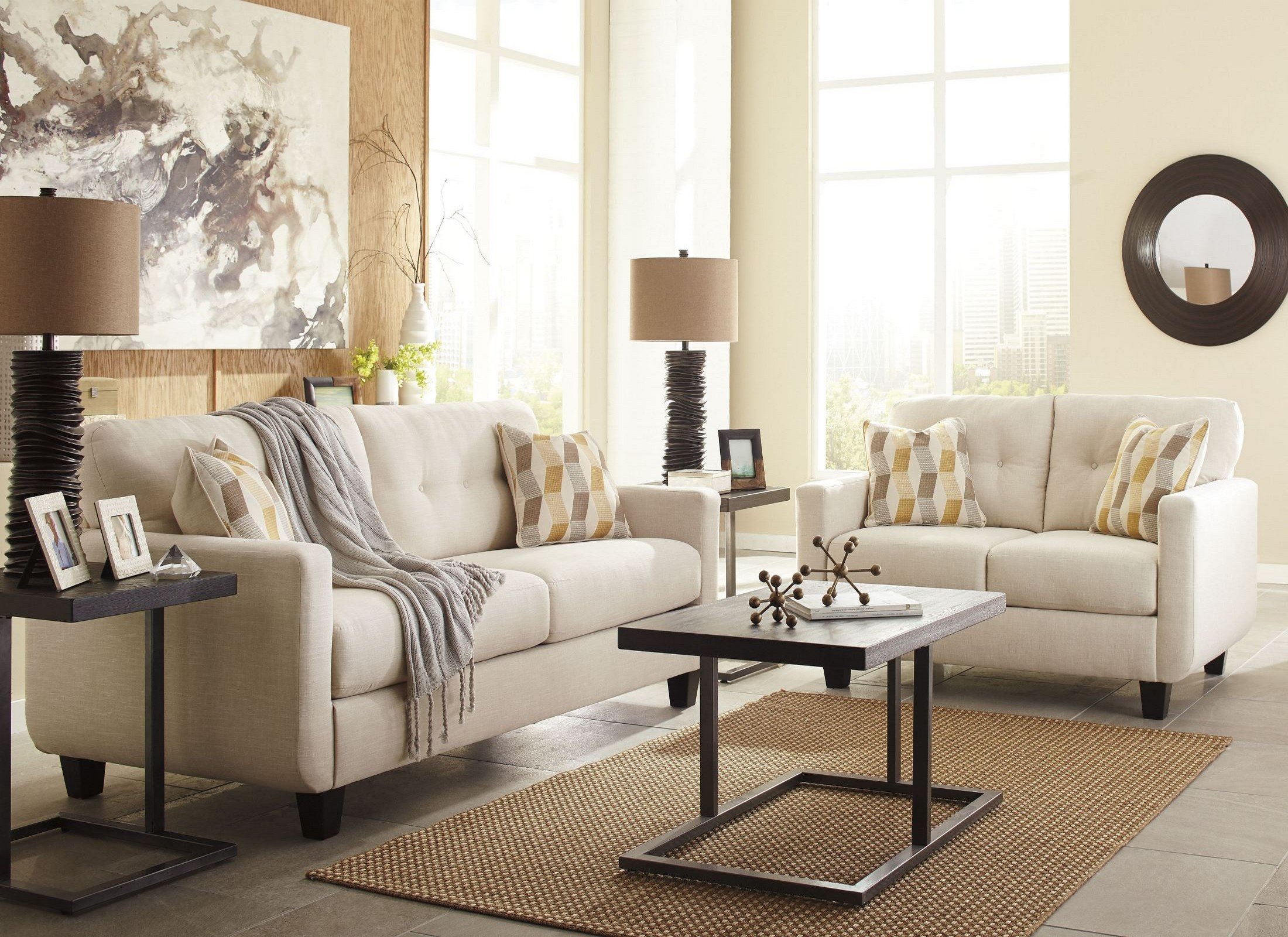 Drasco Marble Living Room Set From Ashley Coleman Furniture