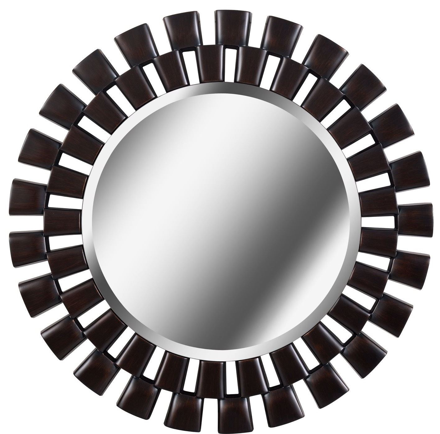 Gilbert oil rubbed bronze wall mirror from kenroy for Bronze mirror