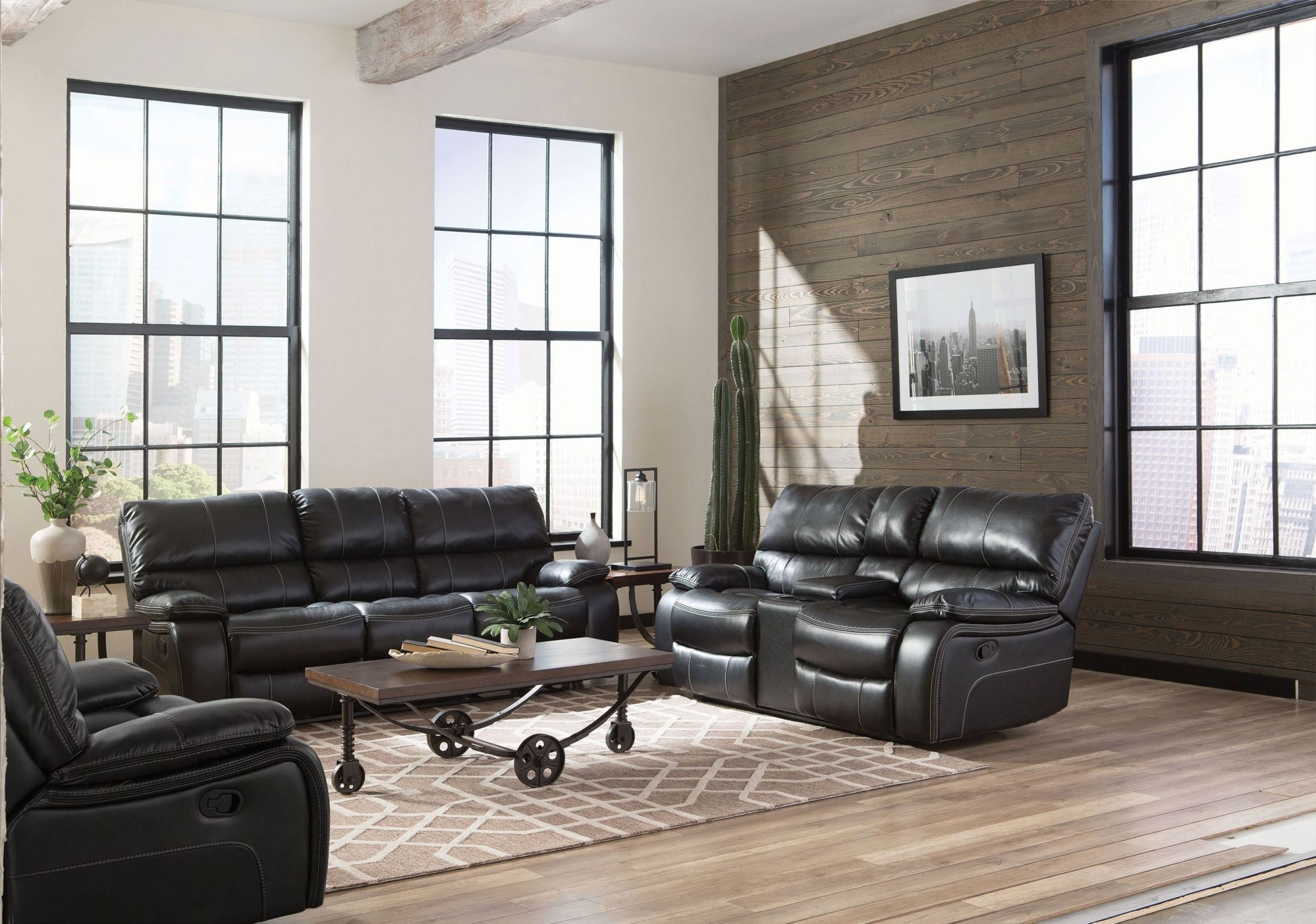 Willemse Black Reclining Living Room Set from Coaster