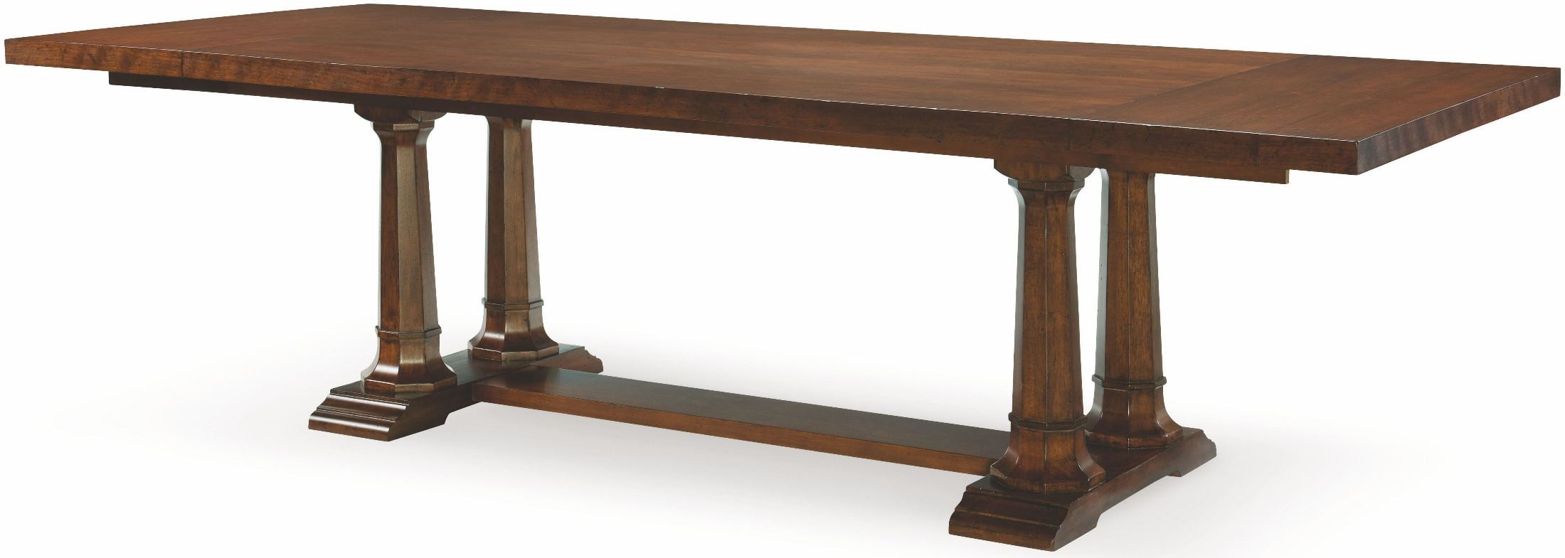 upstate conciare extendable trestle dining table from rachael ray home coleman furniture. Black Bedroom Furniture Sets. Home Design Ideas