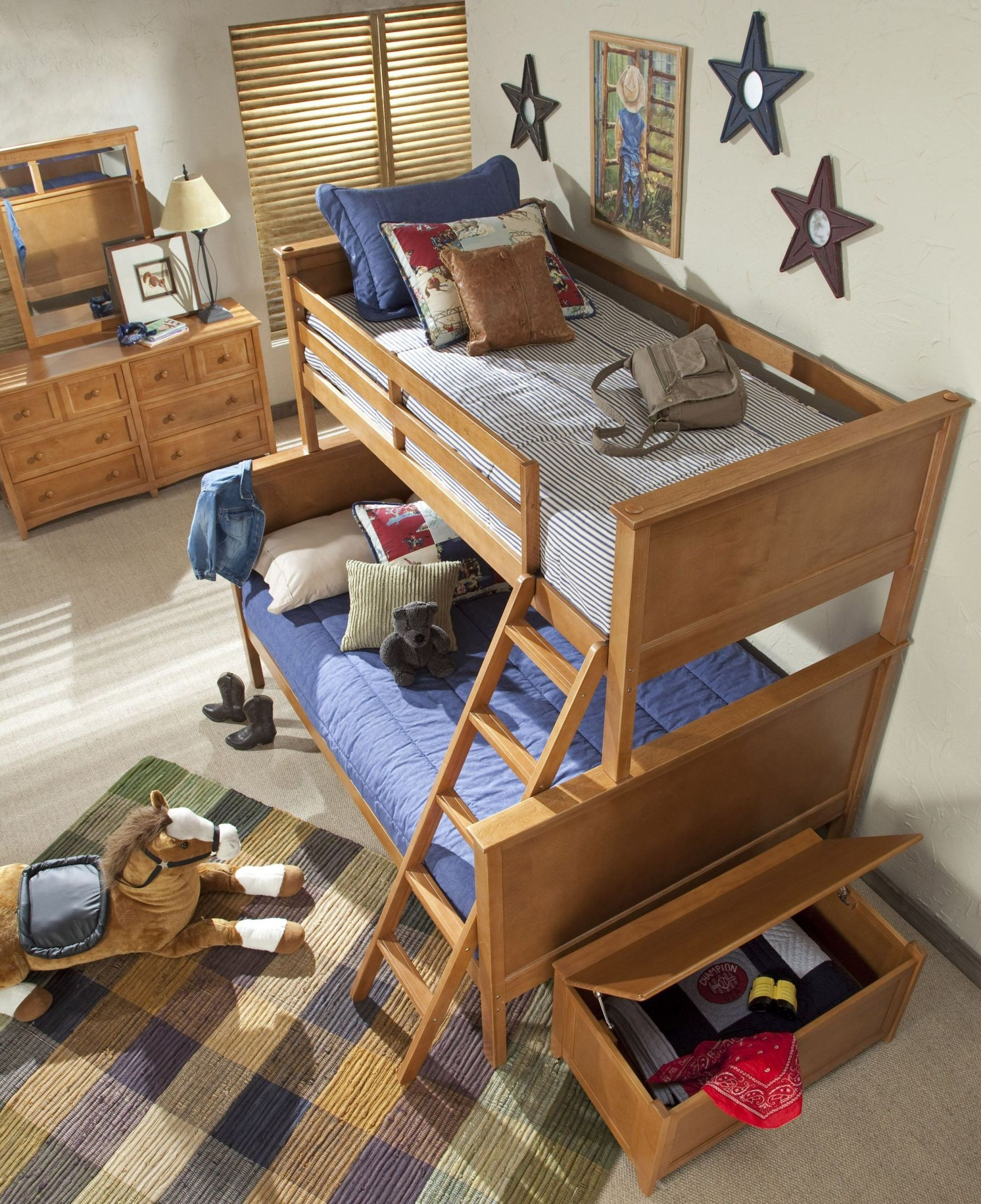 School House Pecan Youth Bunk Bedroom Set From Ne Kids