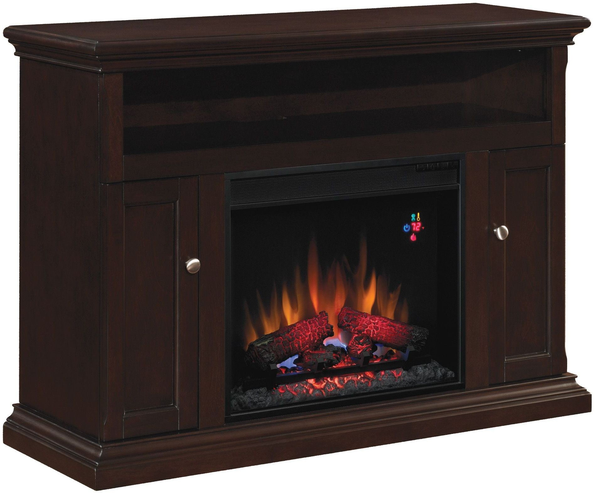 Classicflame Espresso Brown Cannes Tv Stand From Twin Star