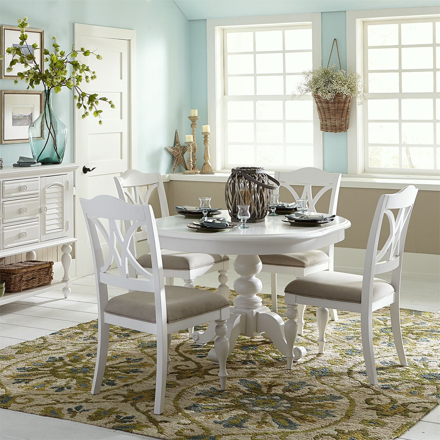 Fine Antique White Dining Room Sets Bralicious Painted Fabric Chair Ideas Braliciousco