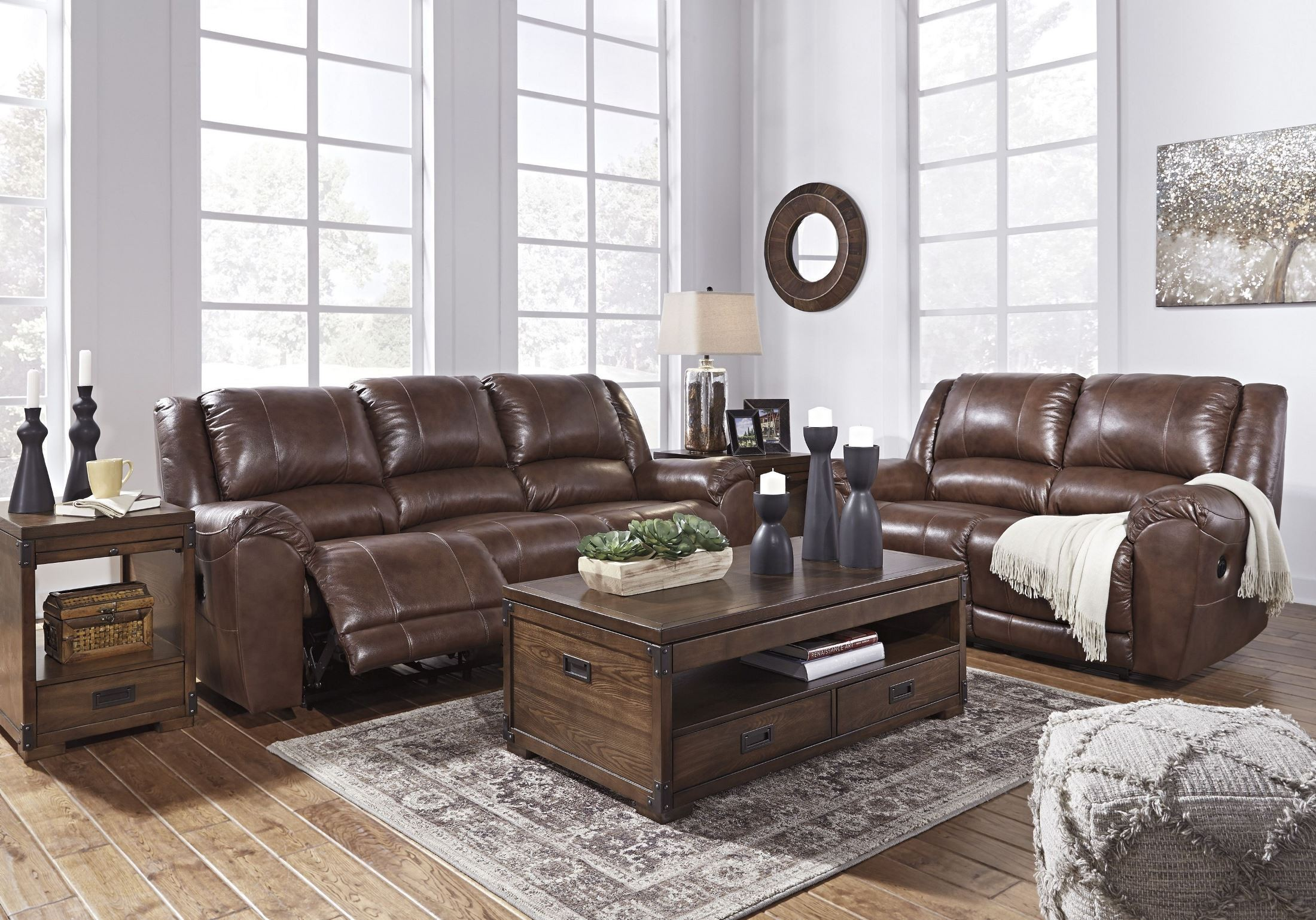 Persiphone Canyon Power Reclining Living Room Set From