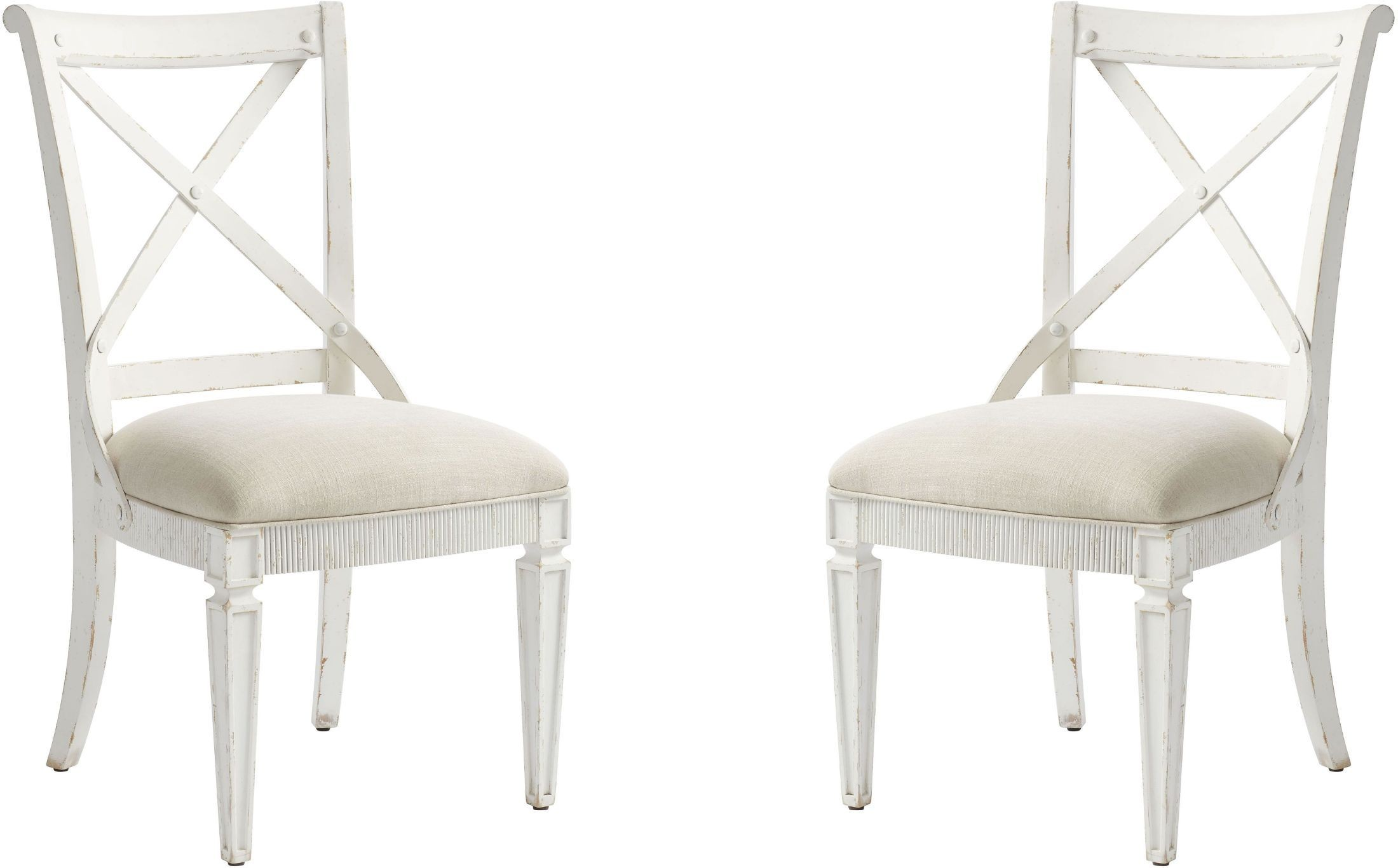 juniper dell 17th century white side chair set of 2 from Sofa Chair clay leather armchair
