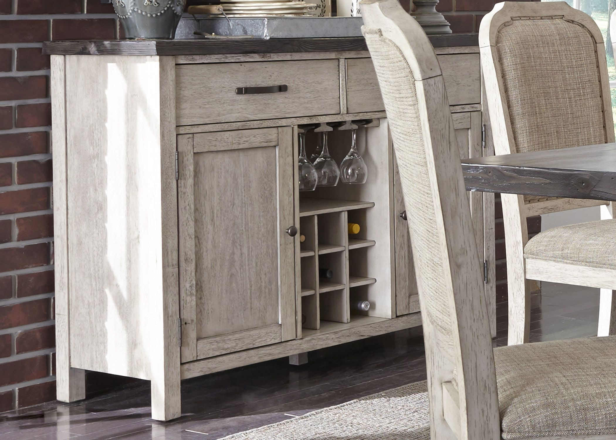 Willowrun Rustic White Sideboard From Liberty