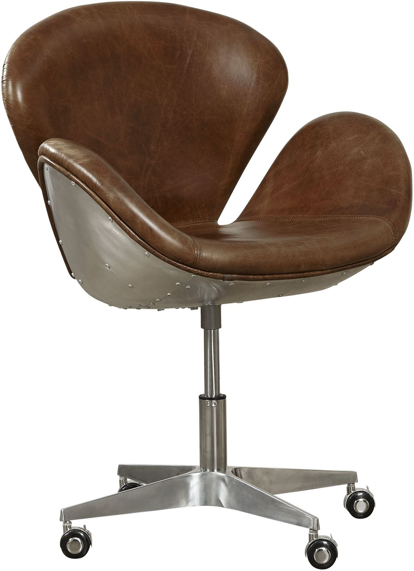 Cranwell cocoa brompton bomber office chair