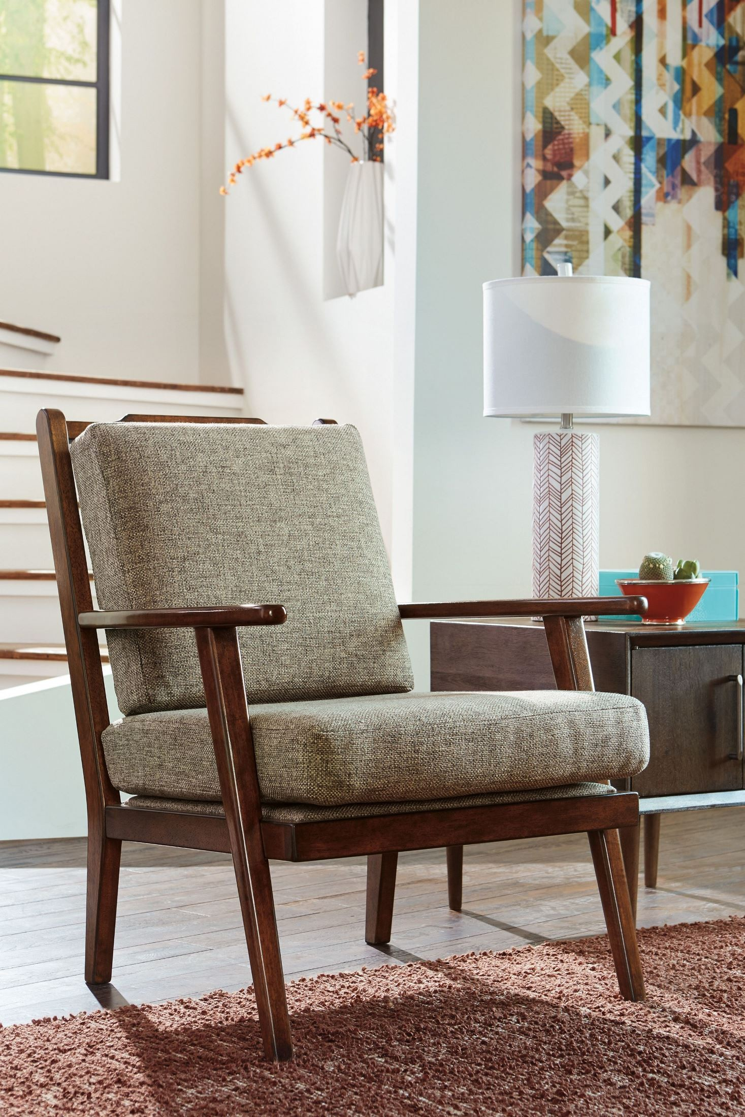 Dahra Jute Accent Chair From Ashley Coleman Furniture