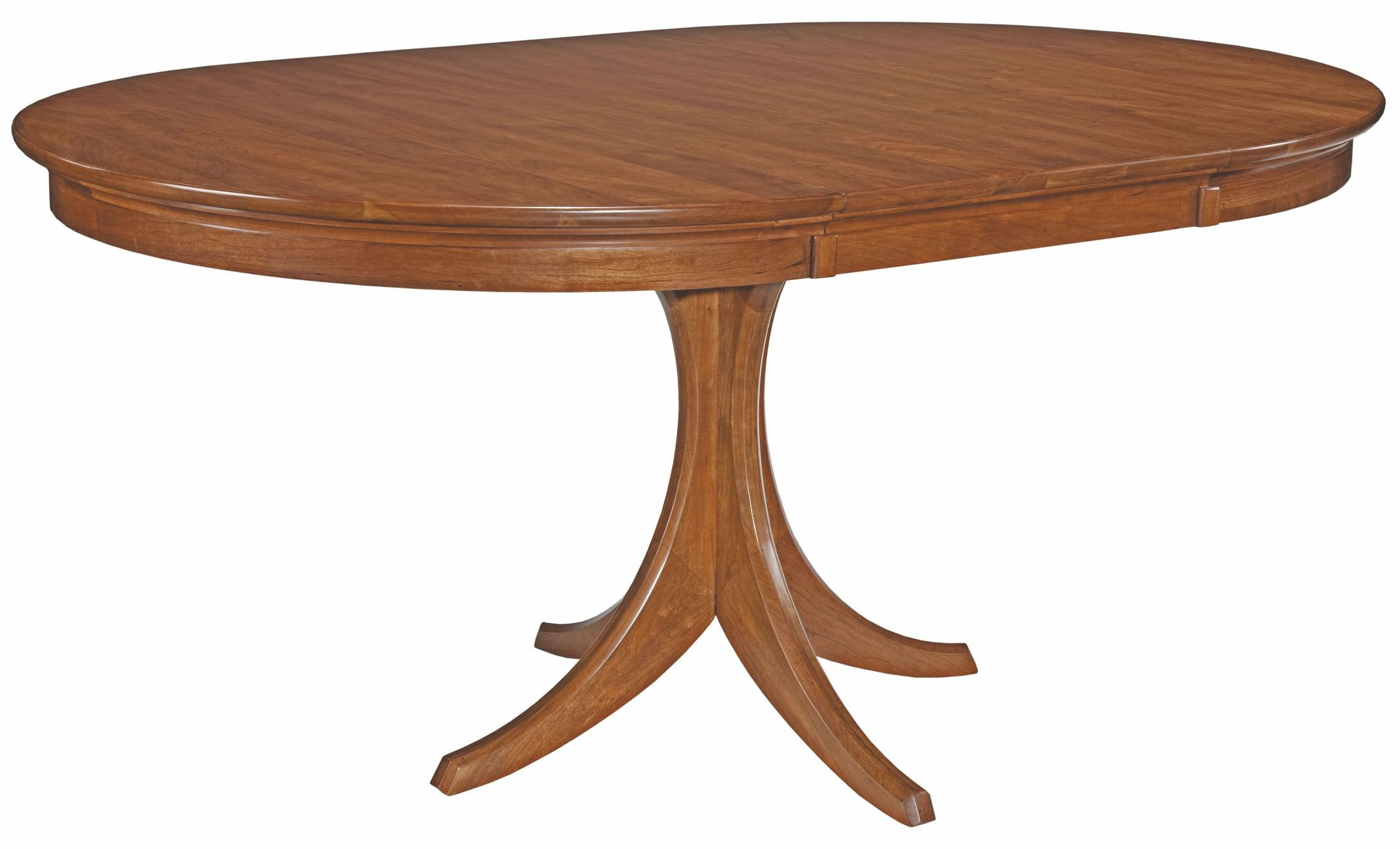 cherry park round dining table from kincaid 63 054p coleman furniture. Black Bedroom Furniture Sets. Home Design Ideas