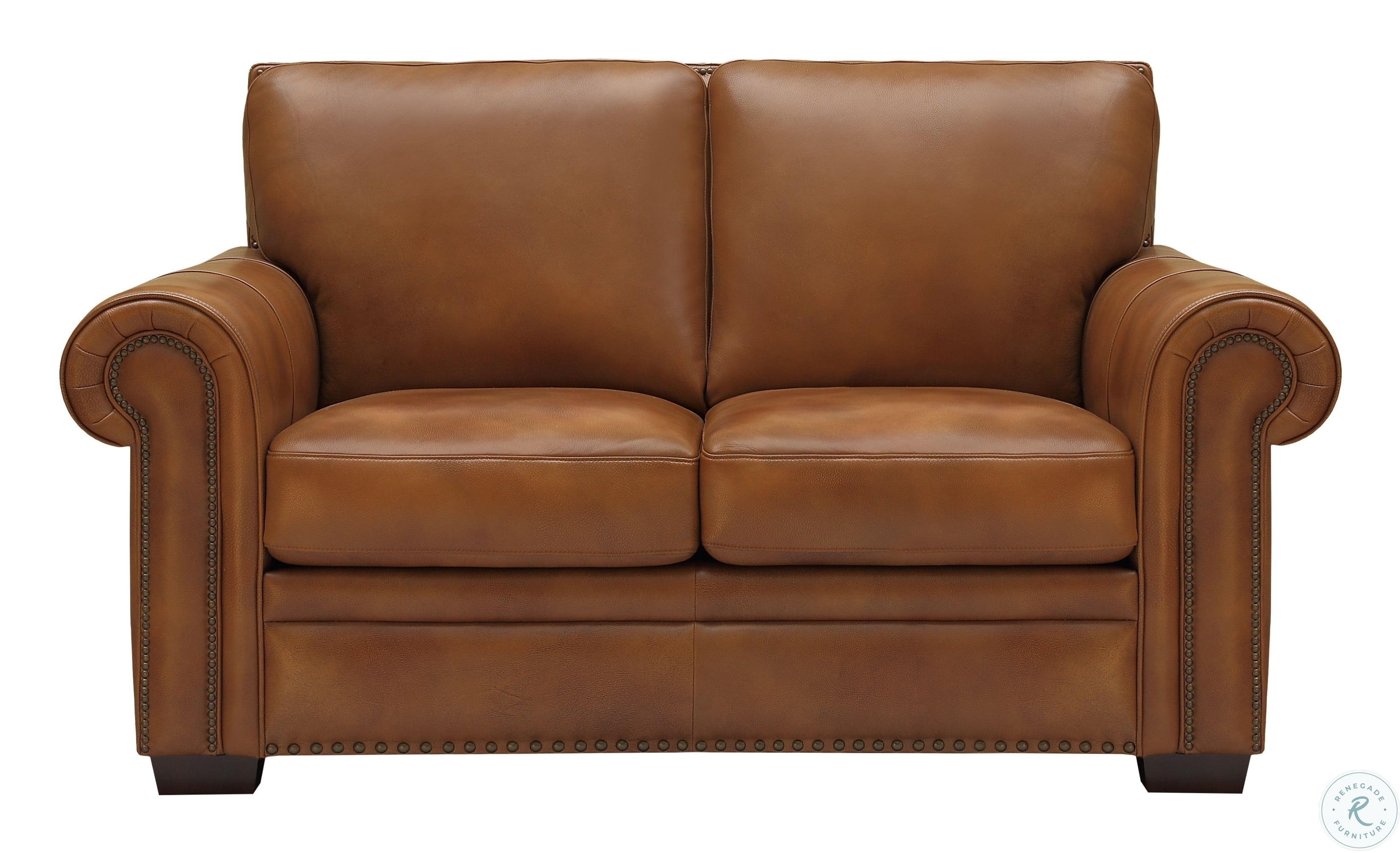 Laguna Tan Leather Living Room Set