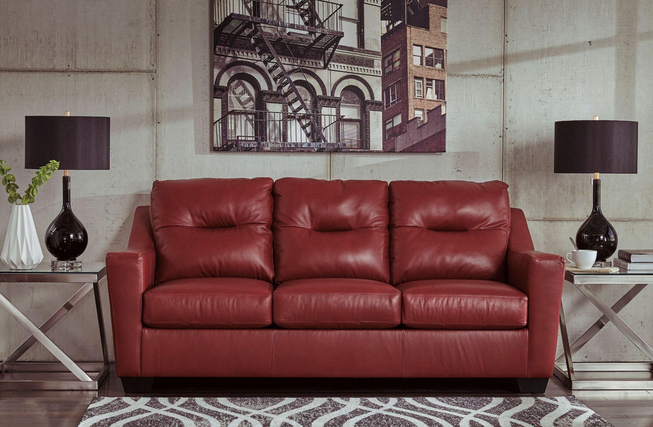 Kensbridge Crimson Sofa From Ashley Coleman Furniture
