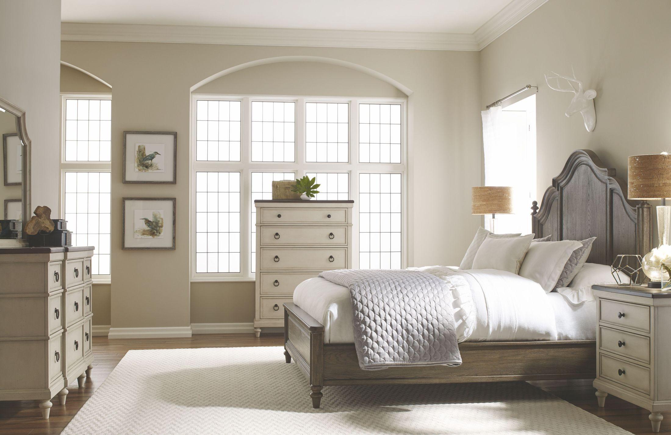 Brookhaven Rustic Dark Elm Panel Bedroom Set from Legacy Classic ...
