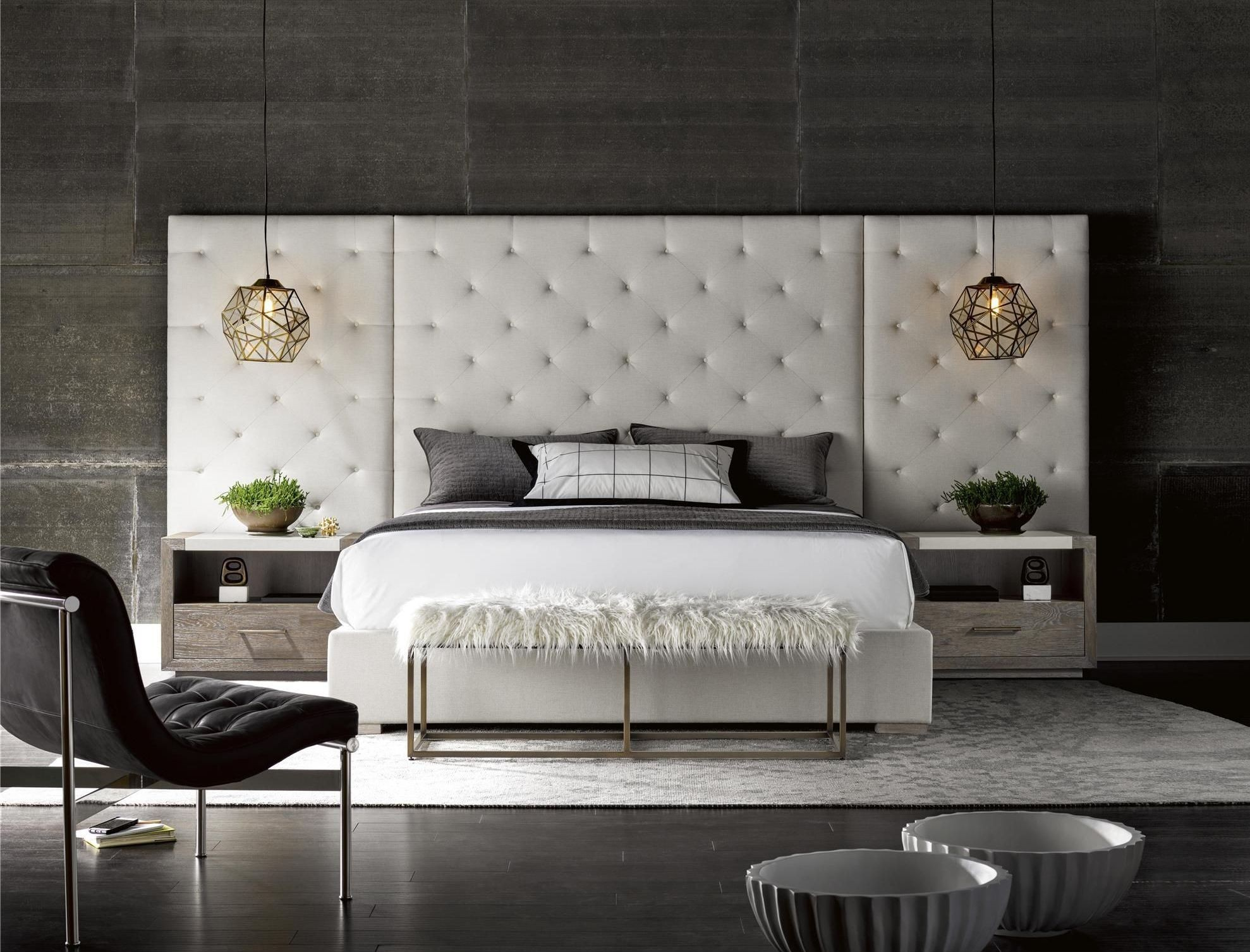 Brando Cream Wall Panel Platform Bedroom Set From Universal Coleman Furniture