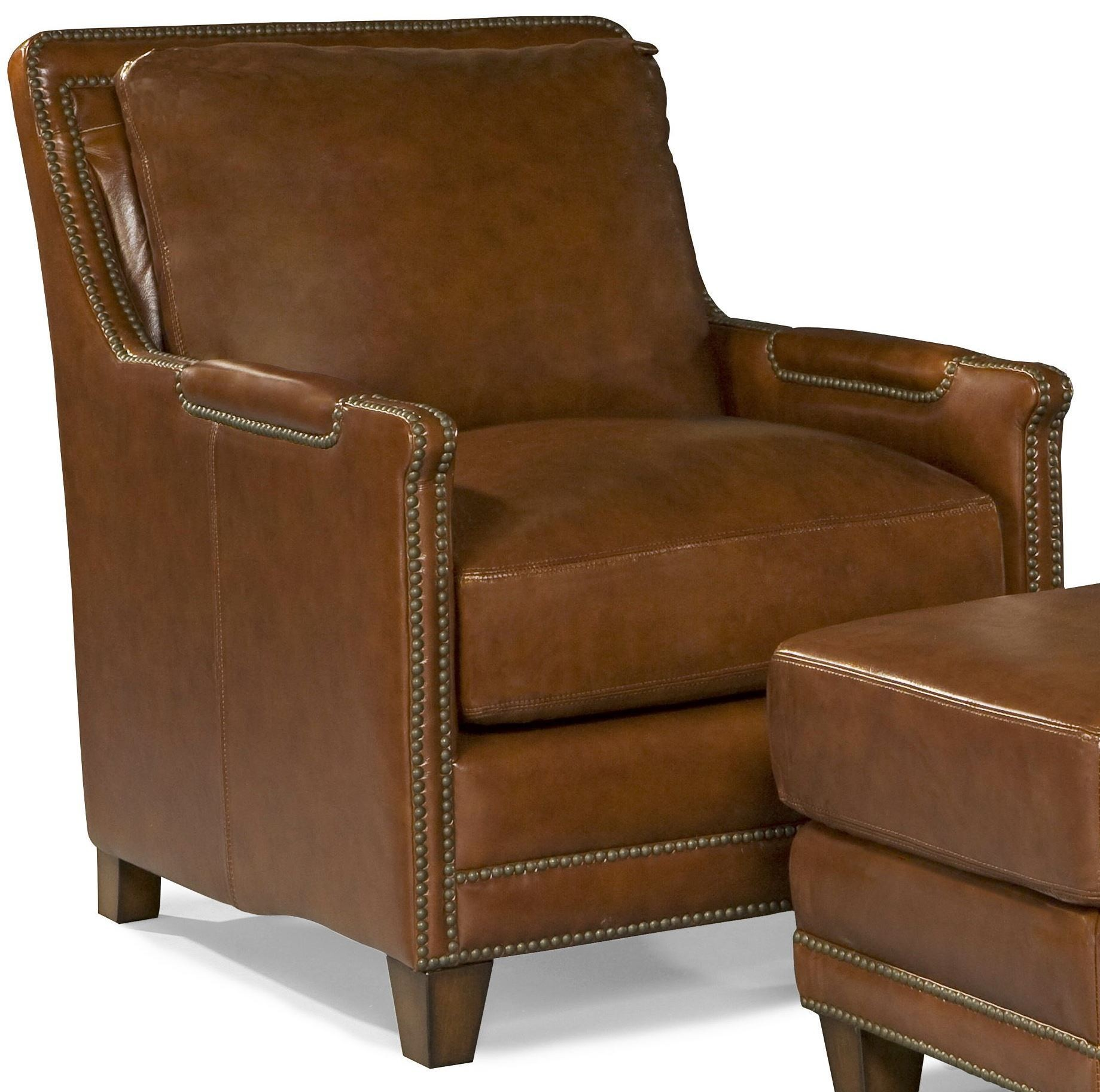 Superieur Prescott Brooklyn Saddle Leather Chair From Spectra Home | Coleman Furniture