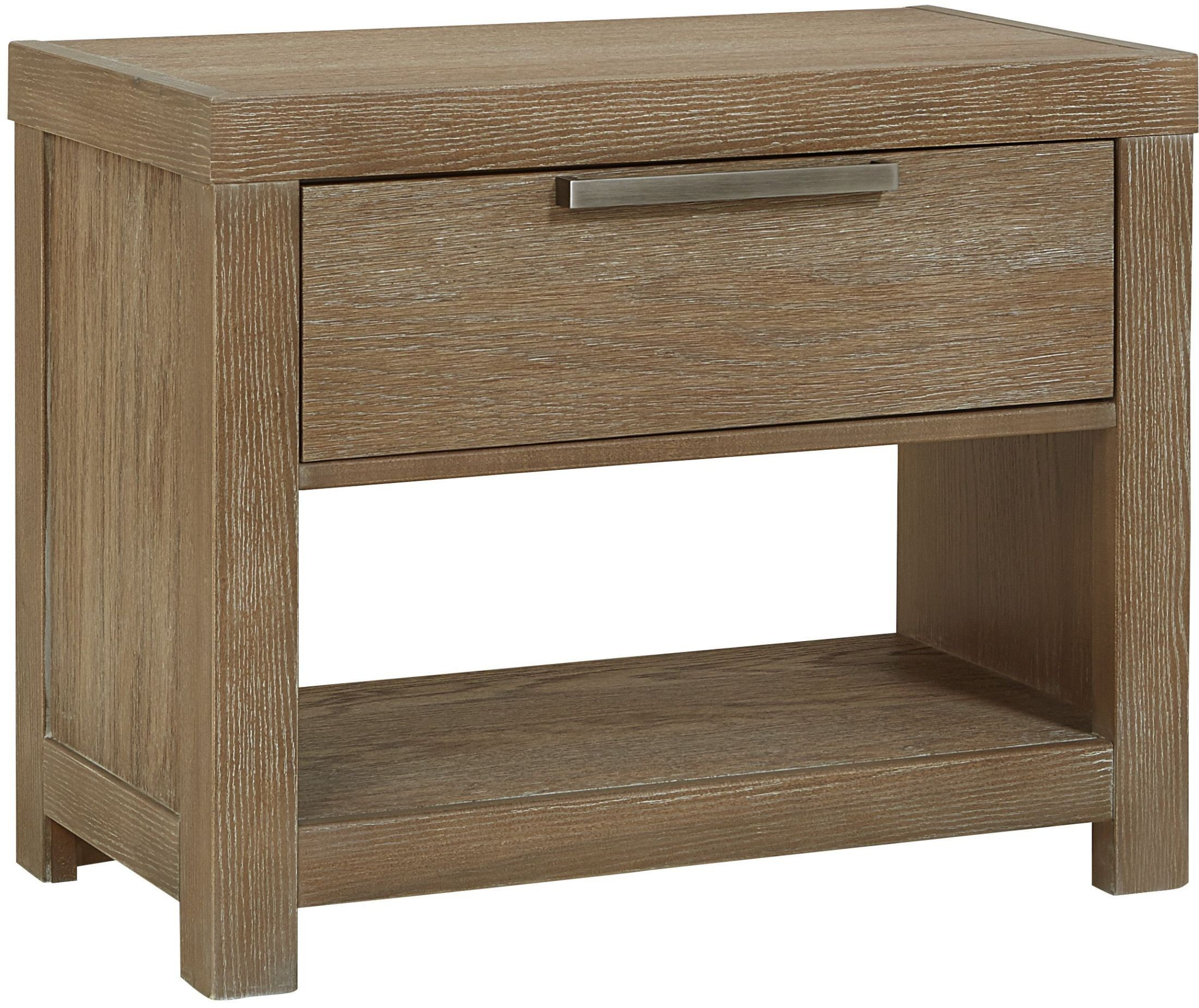 American Modern Natural 1 Drawer Night Table From Virginia