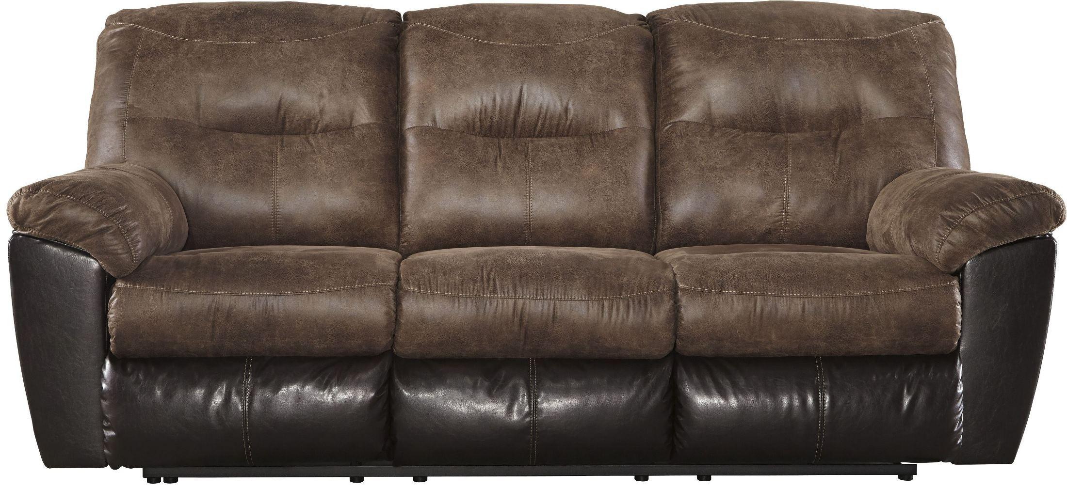 Follett Coffee Reclining Living Room Set 6520288 Ashley
