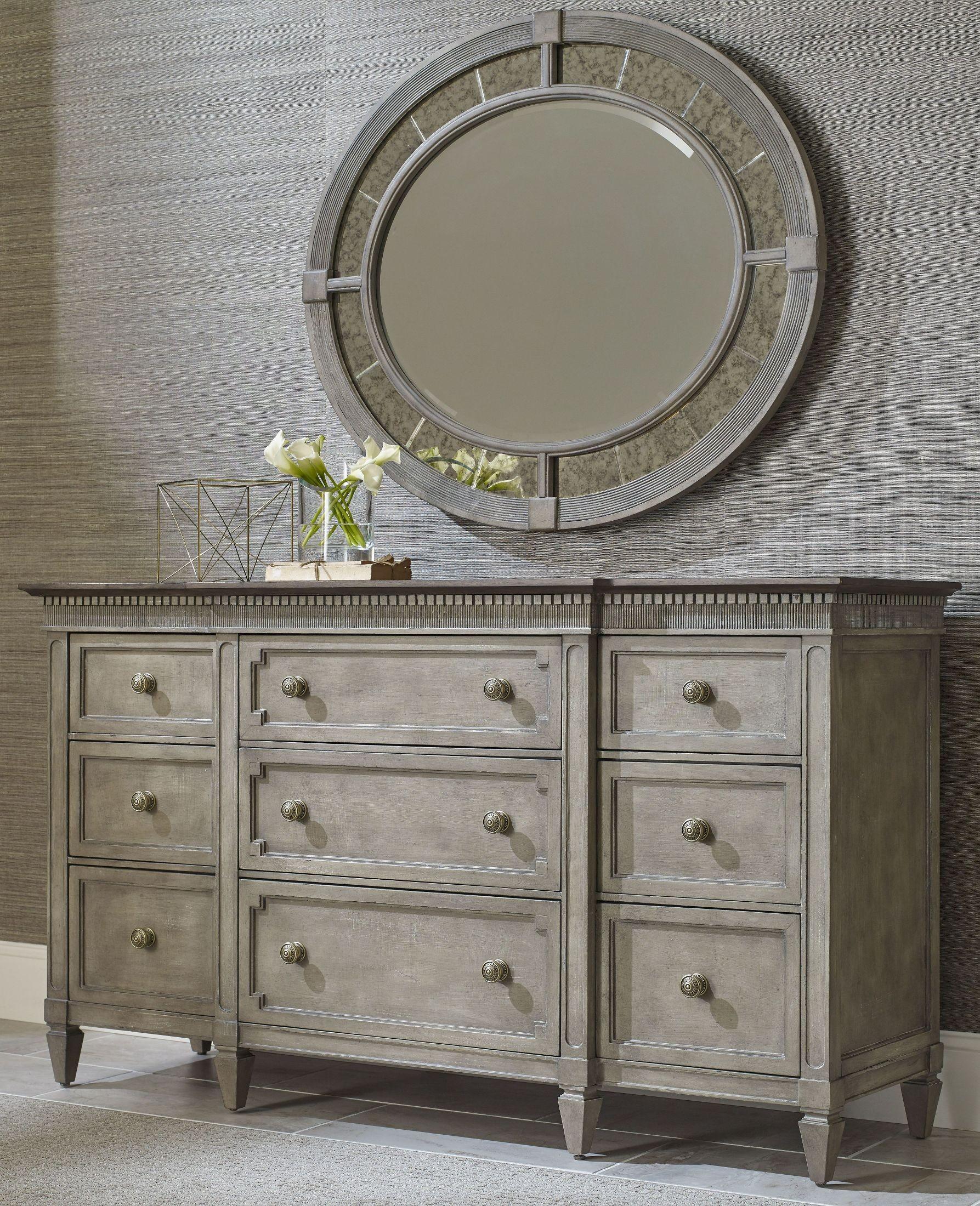 American Drew Furniture 654 308 R Katrine: Savona Versaille Katrine Panel Bedroom Set From American