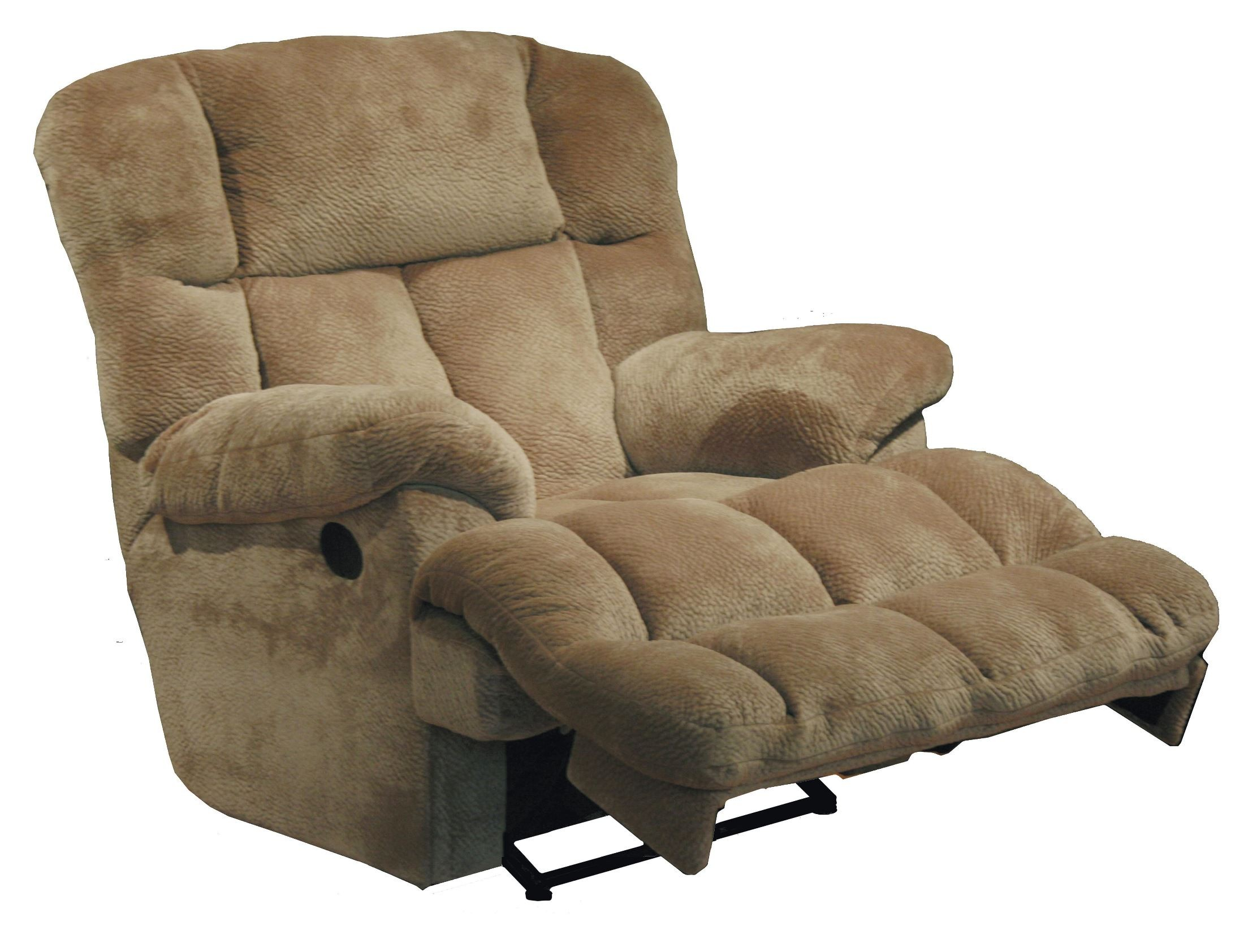 Cloud 12 camel chaise rocker recliner from catnapper for Chaise and recliner