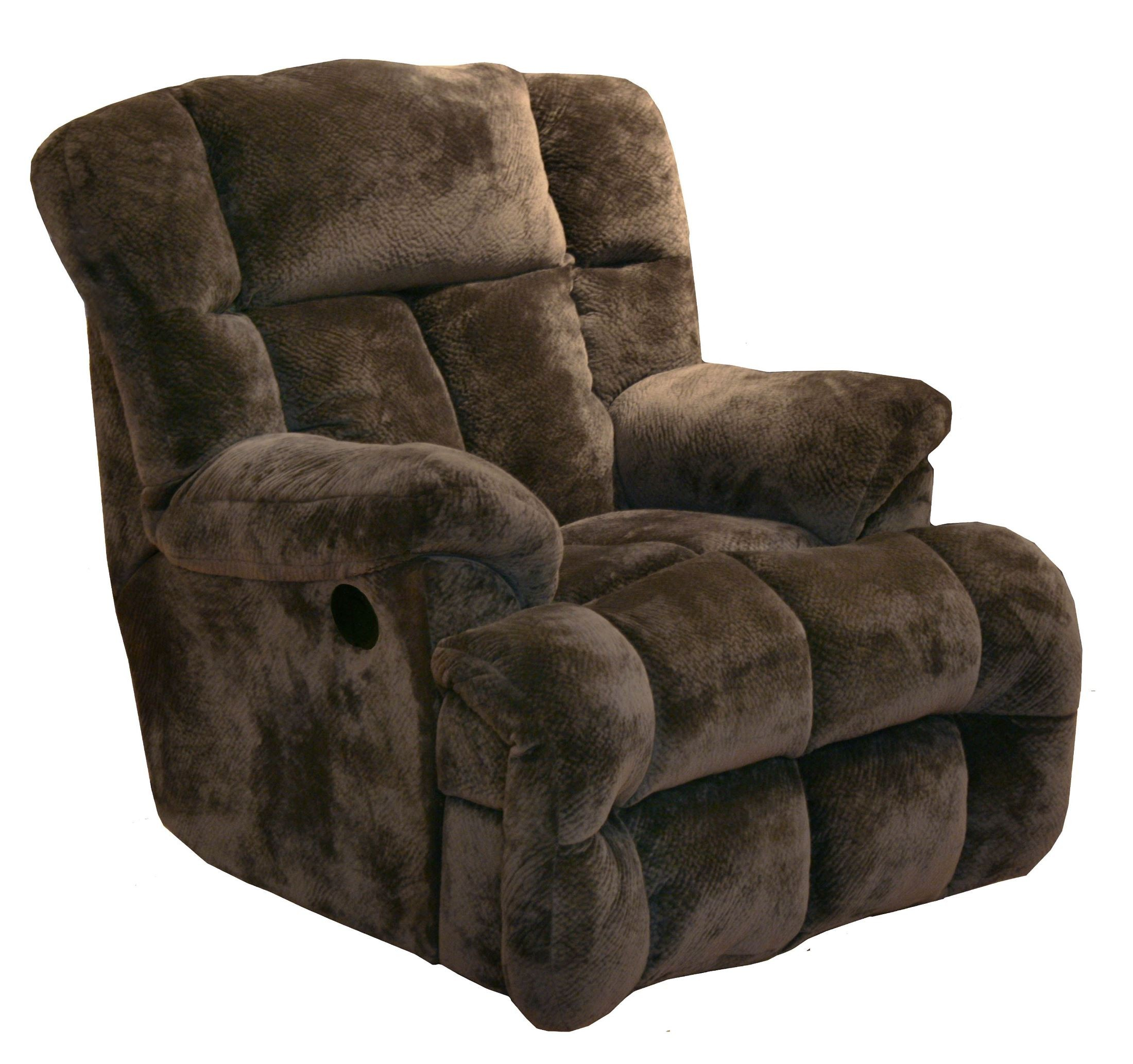 Cloud 12 chocolate chaise rocker recliner from catnapper for Catnapper cloud nine chaise recliner