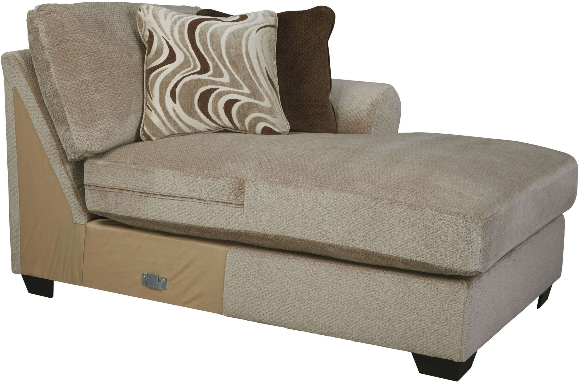Hazes Fleece LAF Sofa Sectional from Ashley