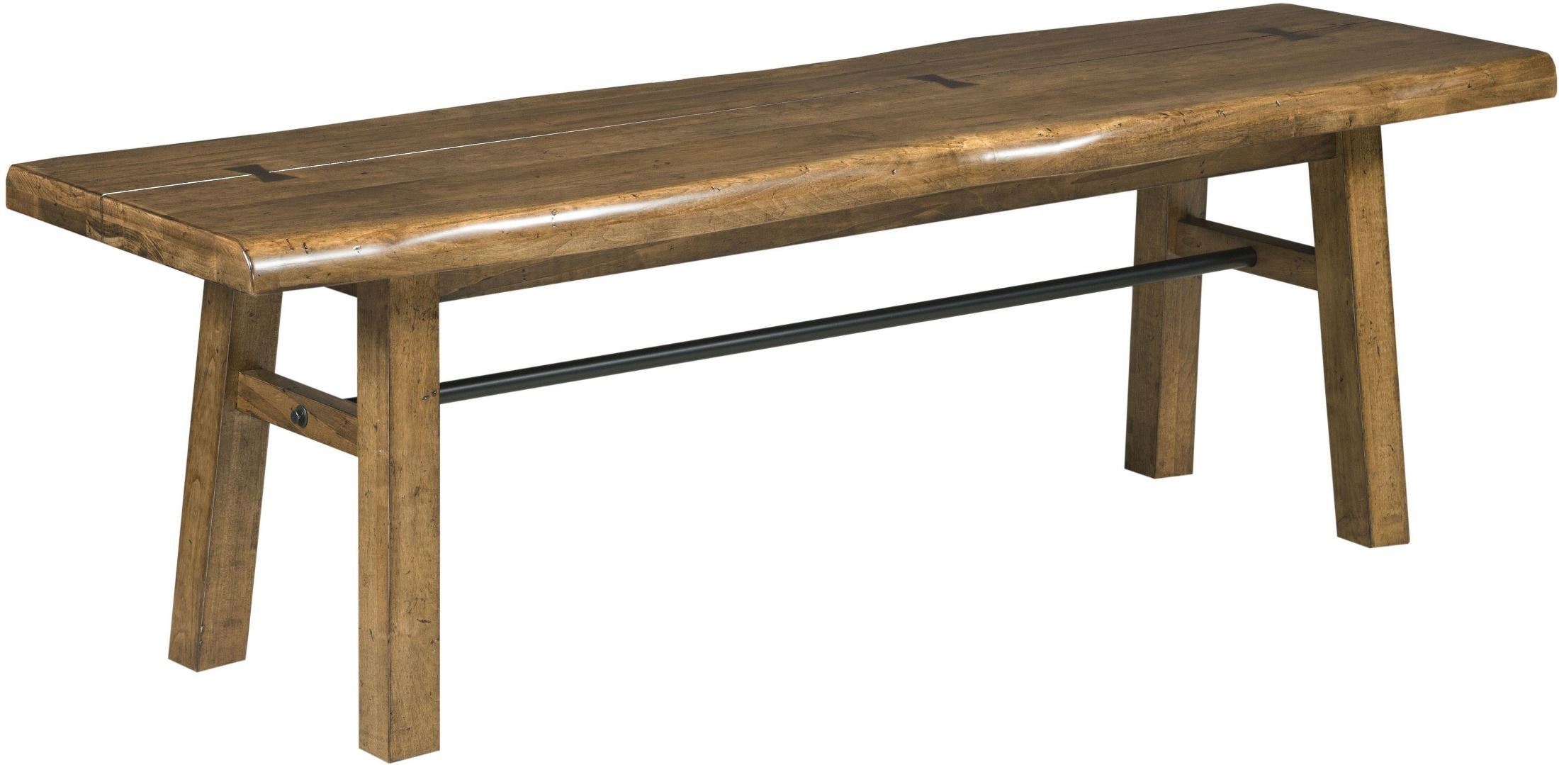 Traverse Brown Bench From Kincaid Furniture Coleman Furniture