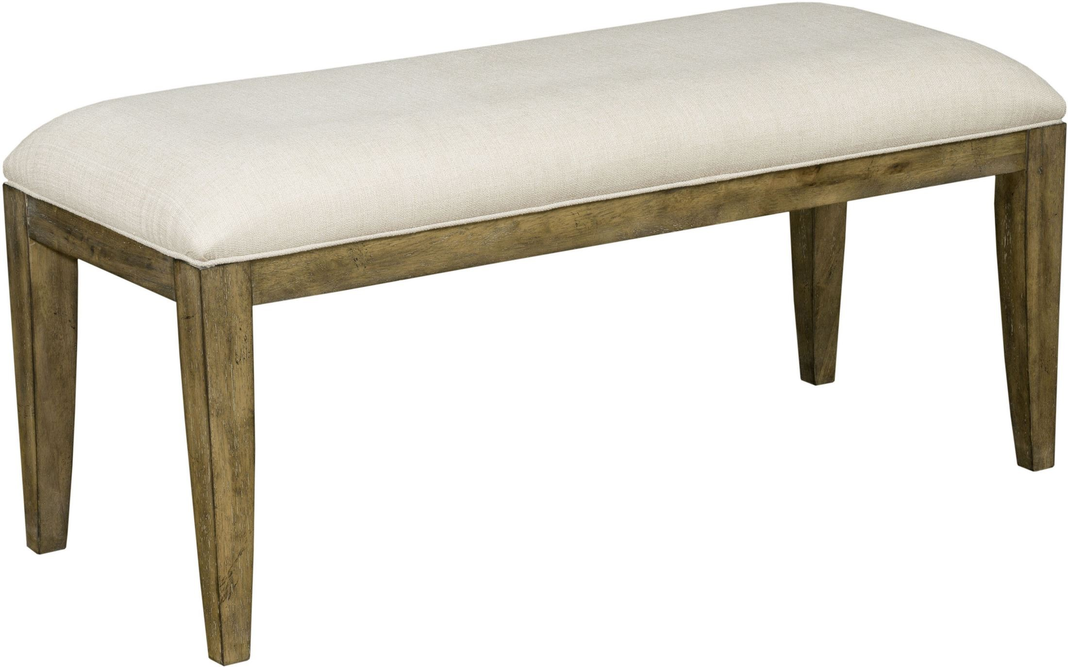 The Nook Oak Parsons Bench From Kincaid Furniture Coleman Furniture