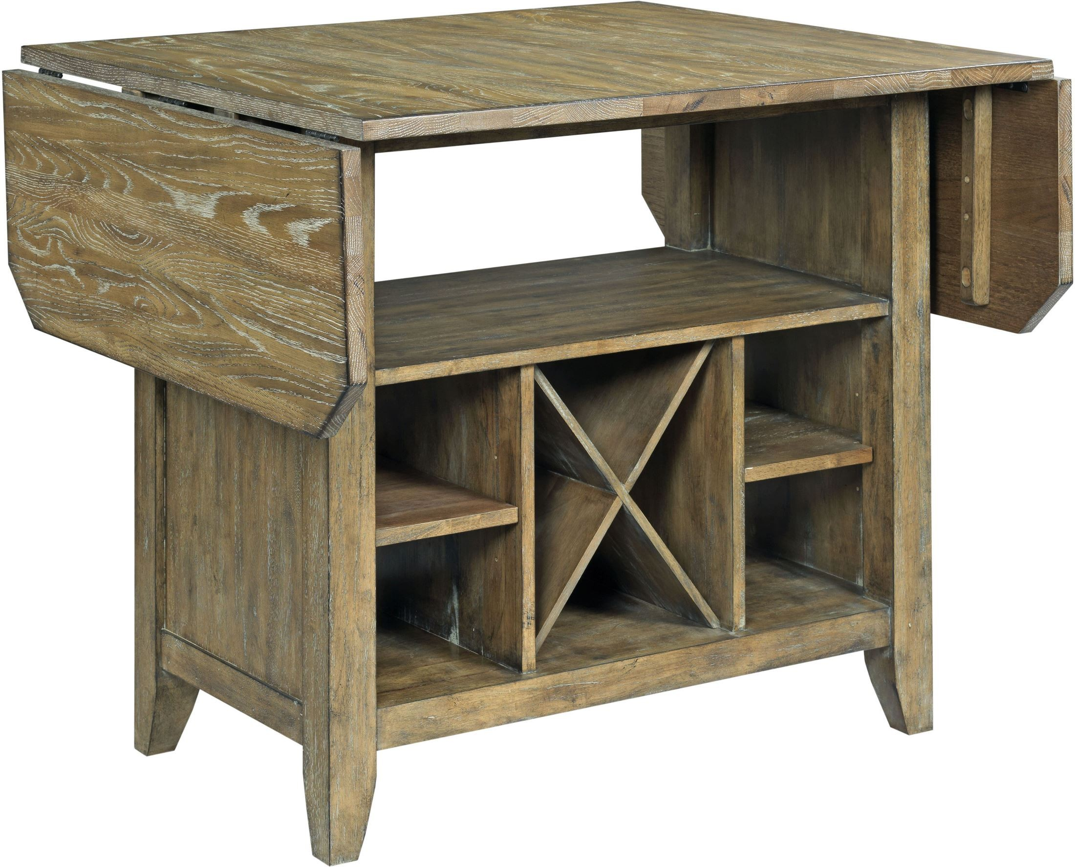 The Nook Oak Kitchen Island From Kincaid Furniture
